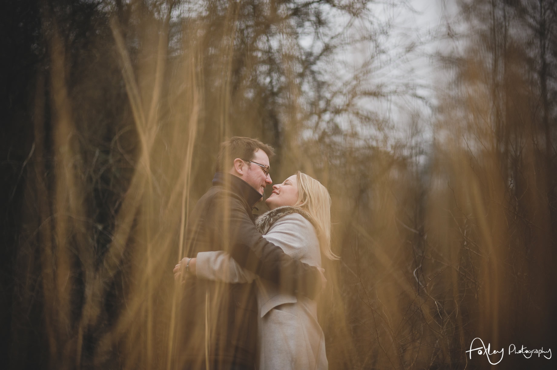 Rebecca and Paul's Pre-Wedding Shoot at Wycoller Country Park 017