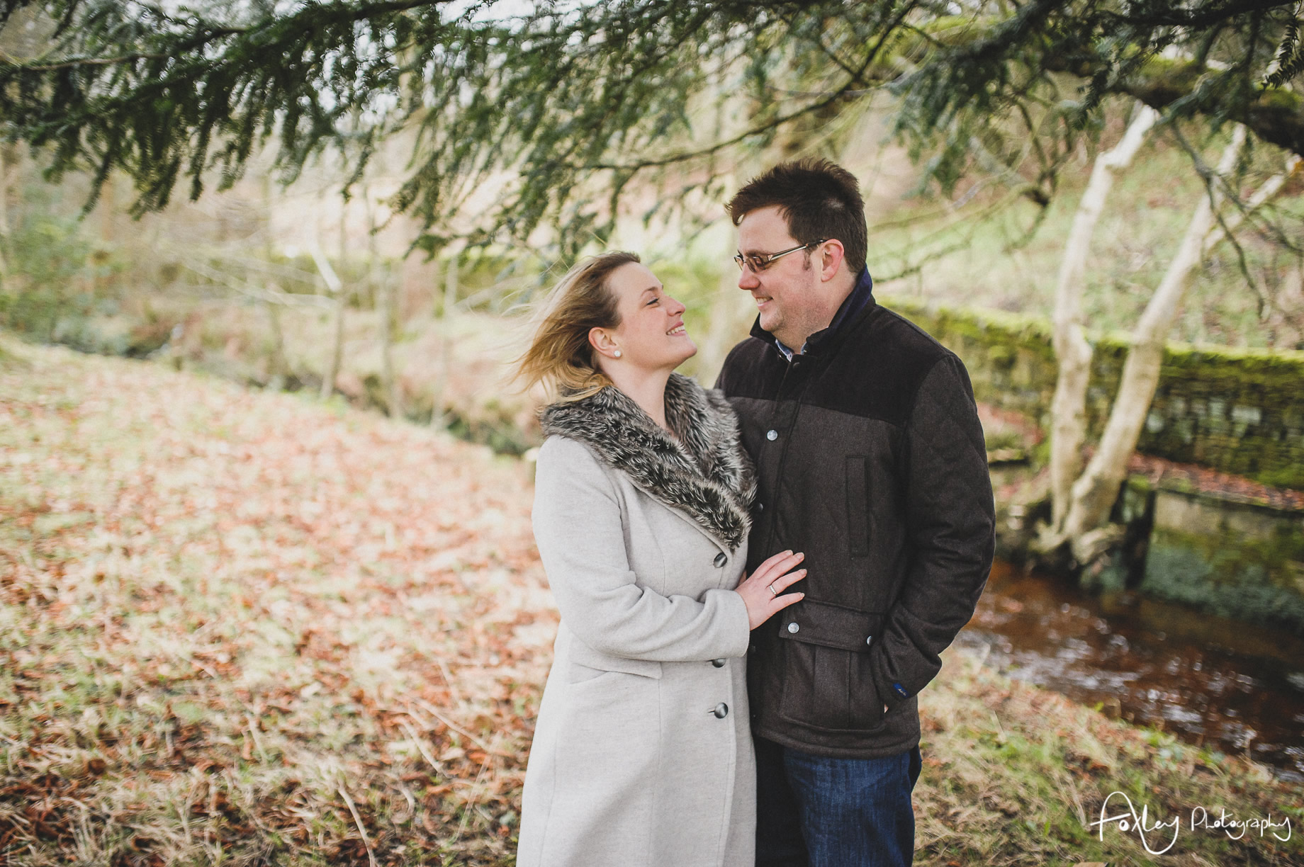 Rebecca and Paul's Pre-Wedding Shoot at Wycoller Country Park 020