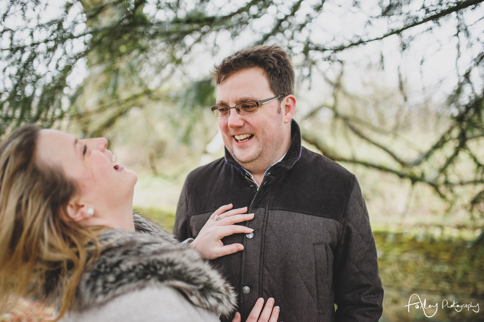 Rebecca and Paul's Pre-Wedding Shoot at Wycoller Country Park 021