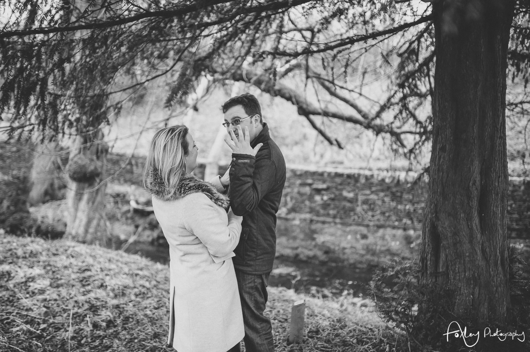 Rebecca and Paul's Pre-Wedding Shoot at Wycoller Country Park 022