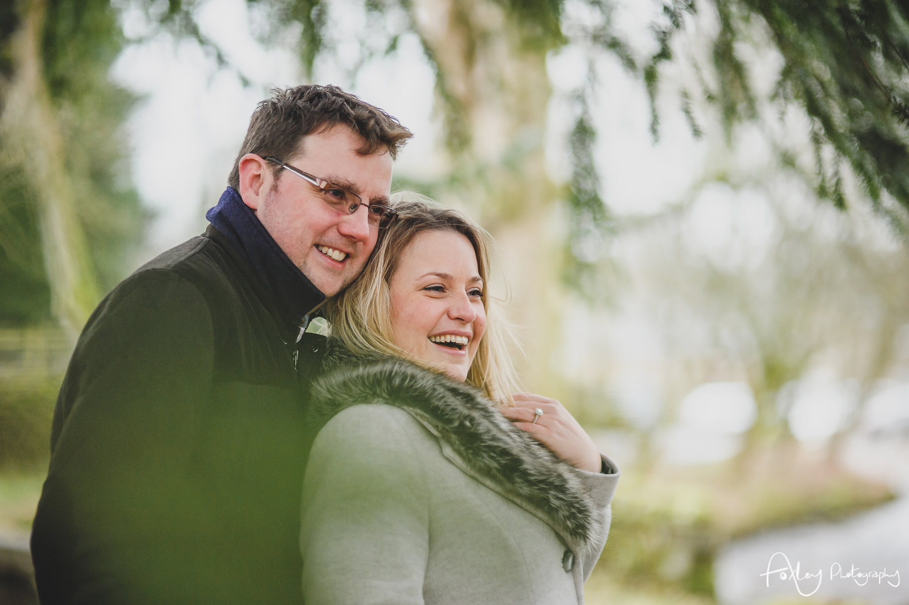 Rebecca and Paul's Pre-Wedding Shoot at Wycoller Country Park 025