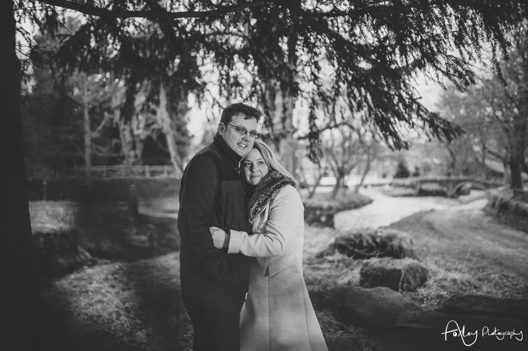 Rebecca and Paul's Pre-Wedding Shoot at Wycoller Country Park 026