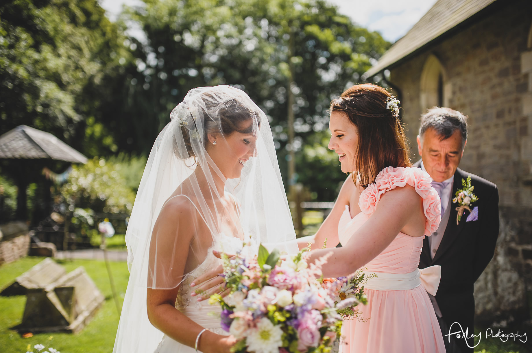 Claire and James' Wedding at Mitton Hall 078
