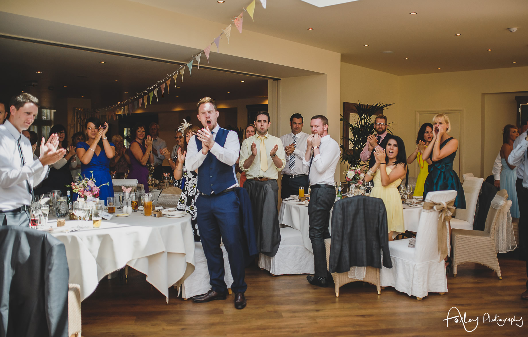 Claire and James' Wedding at Mitton Hall 117