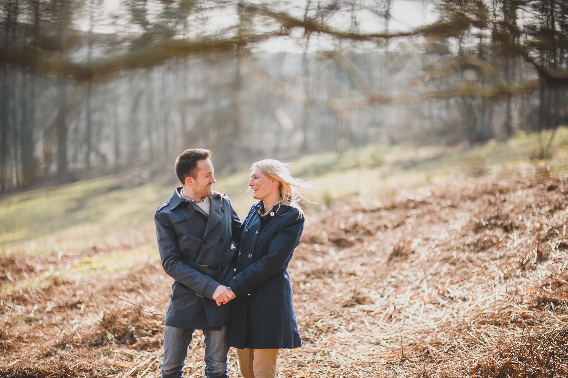 Rachel and Christian Pre-Wedding Shoot at Errwood Hall Ruins 002