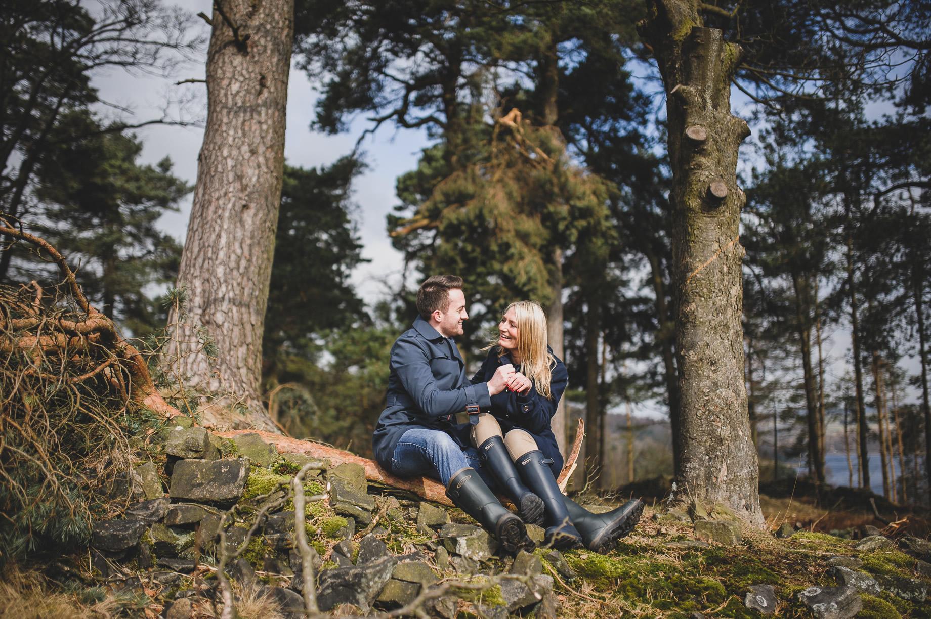 Rachel and Christian Pre-Wedding Shoot at Errwood Hall Ruins 008