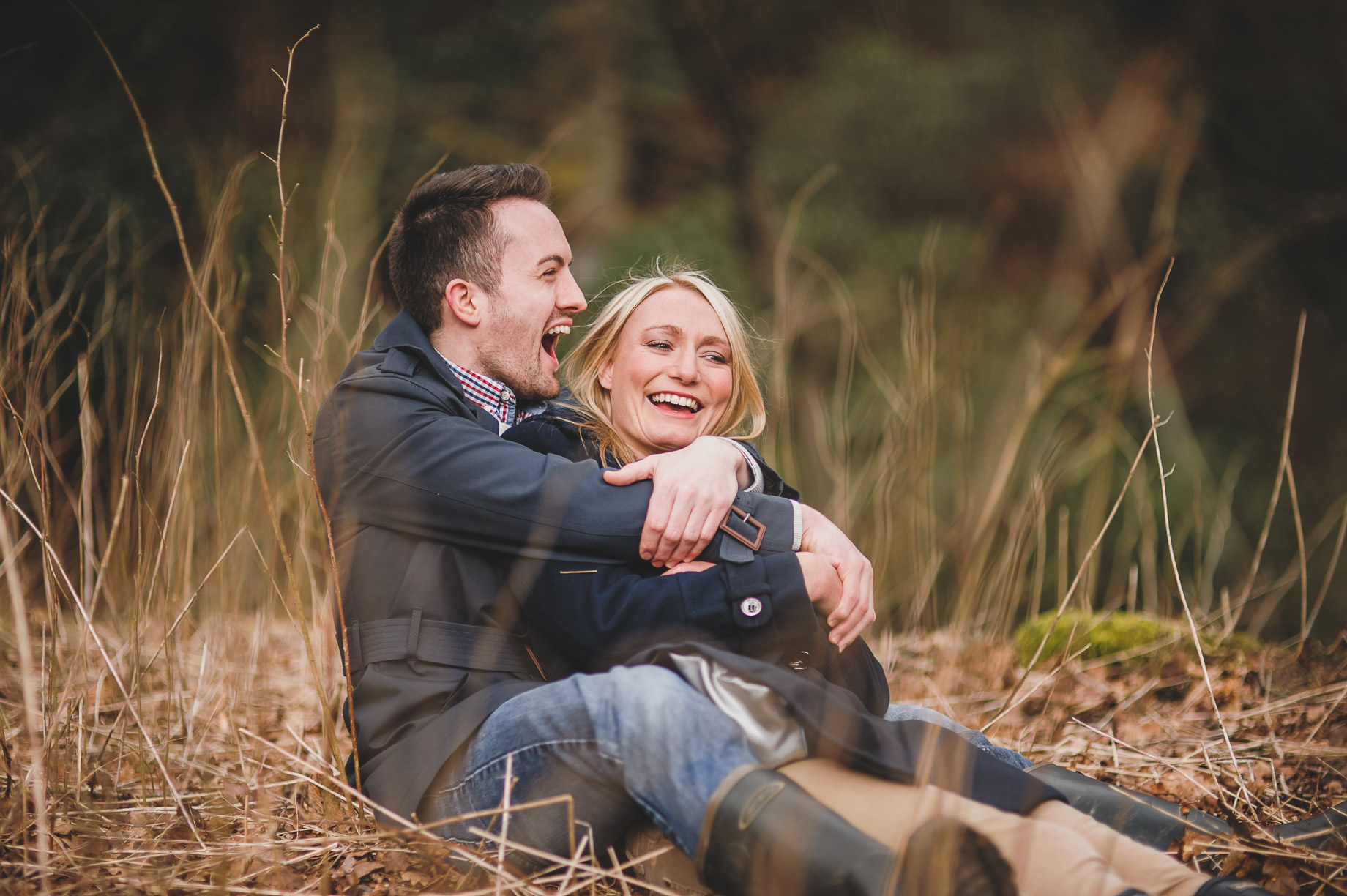 Rachel and Christian Pre-Wedding Shoot at Errwood Hall Ruins 022