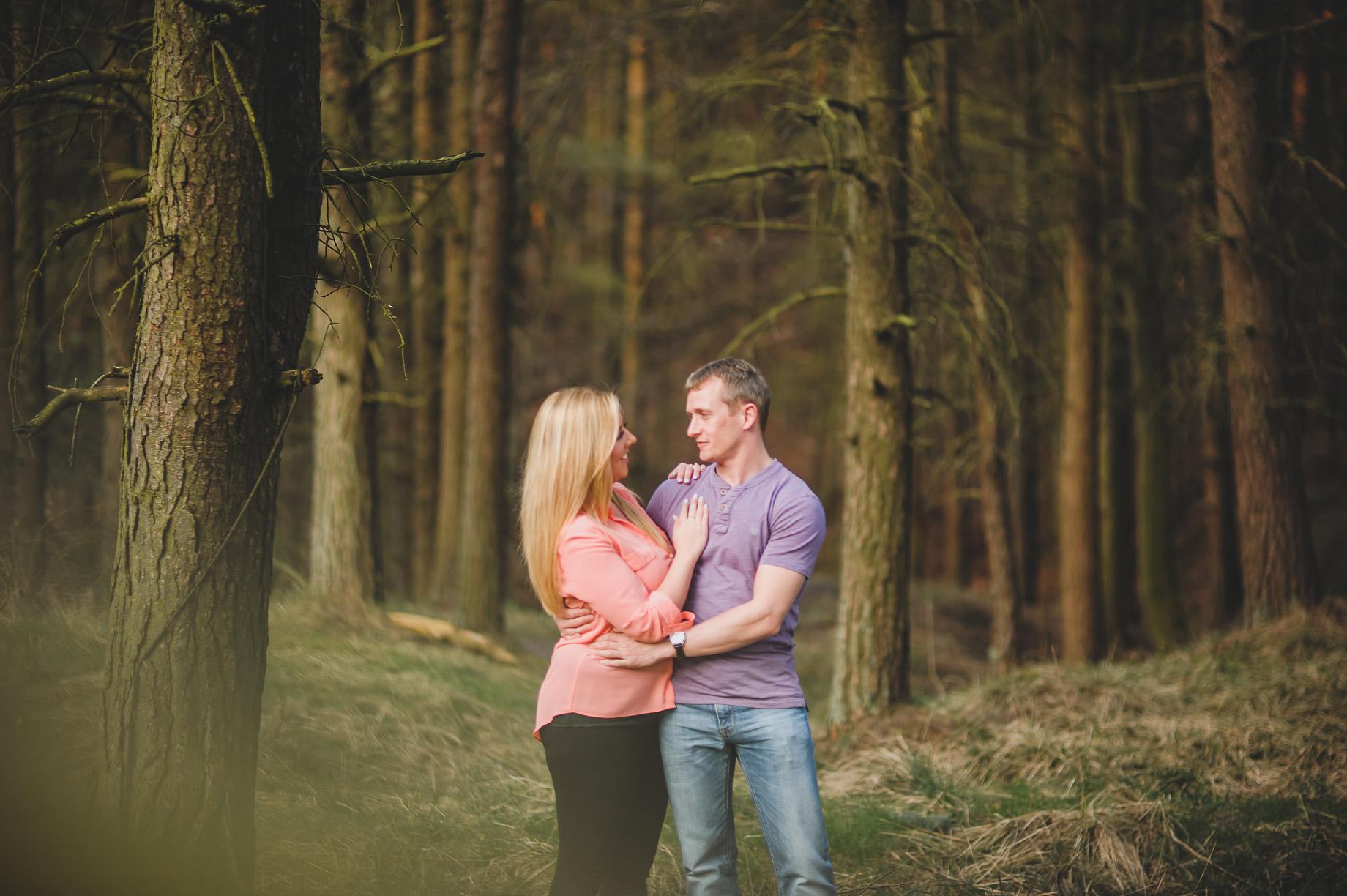 Lynne and Craig Pre-Wedding Shoot at Hurstwood Reservoir 001