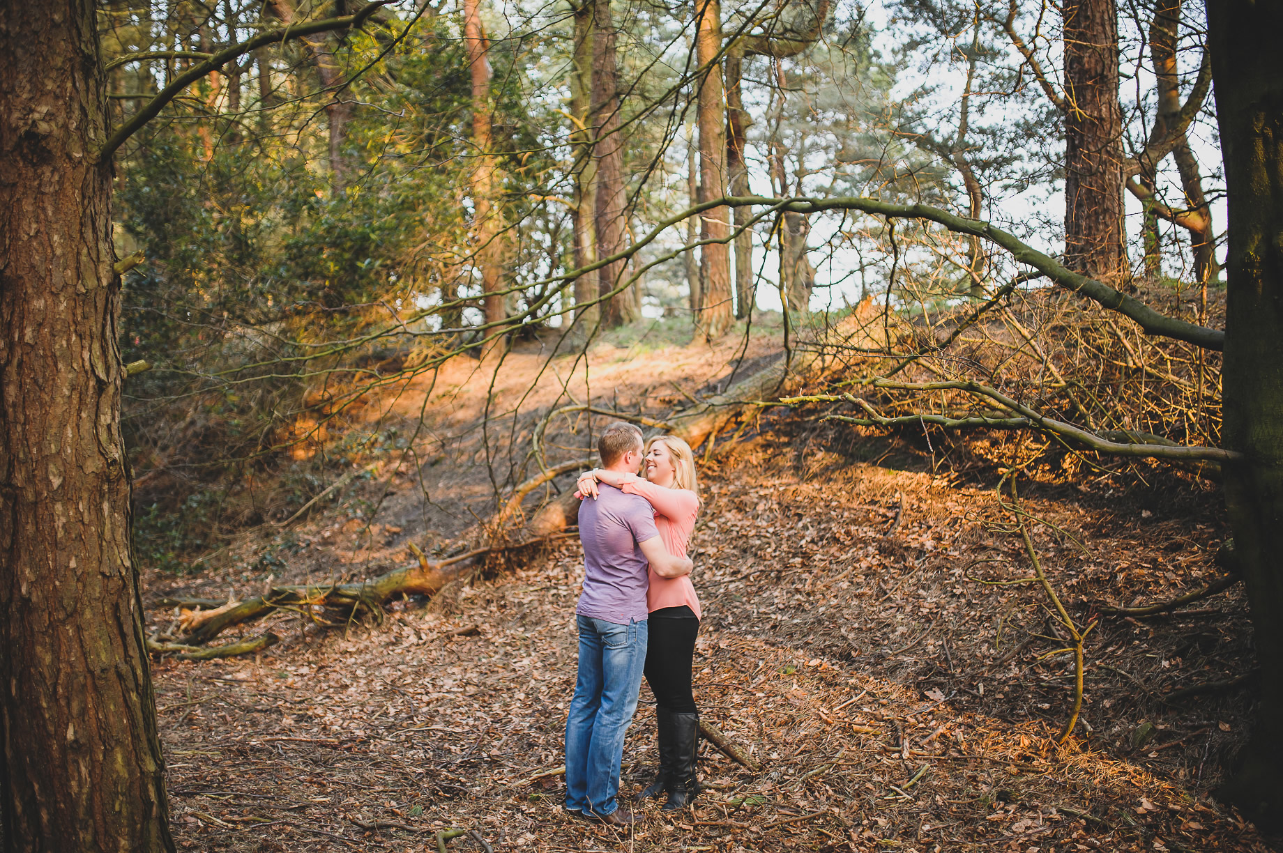 Lynne and Craig Pre-Wedding Shoot at Hurstwood Reservoir 003