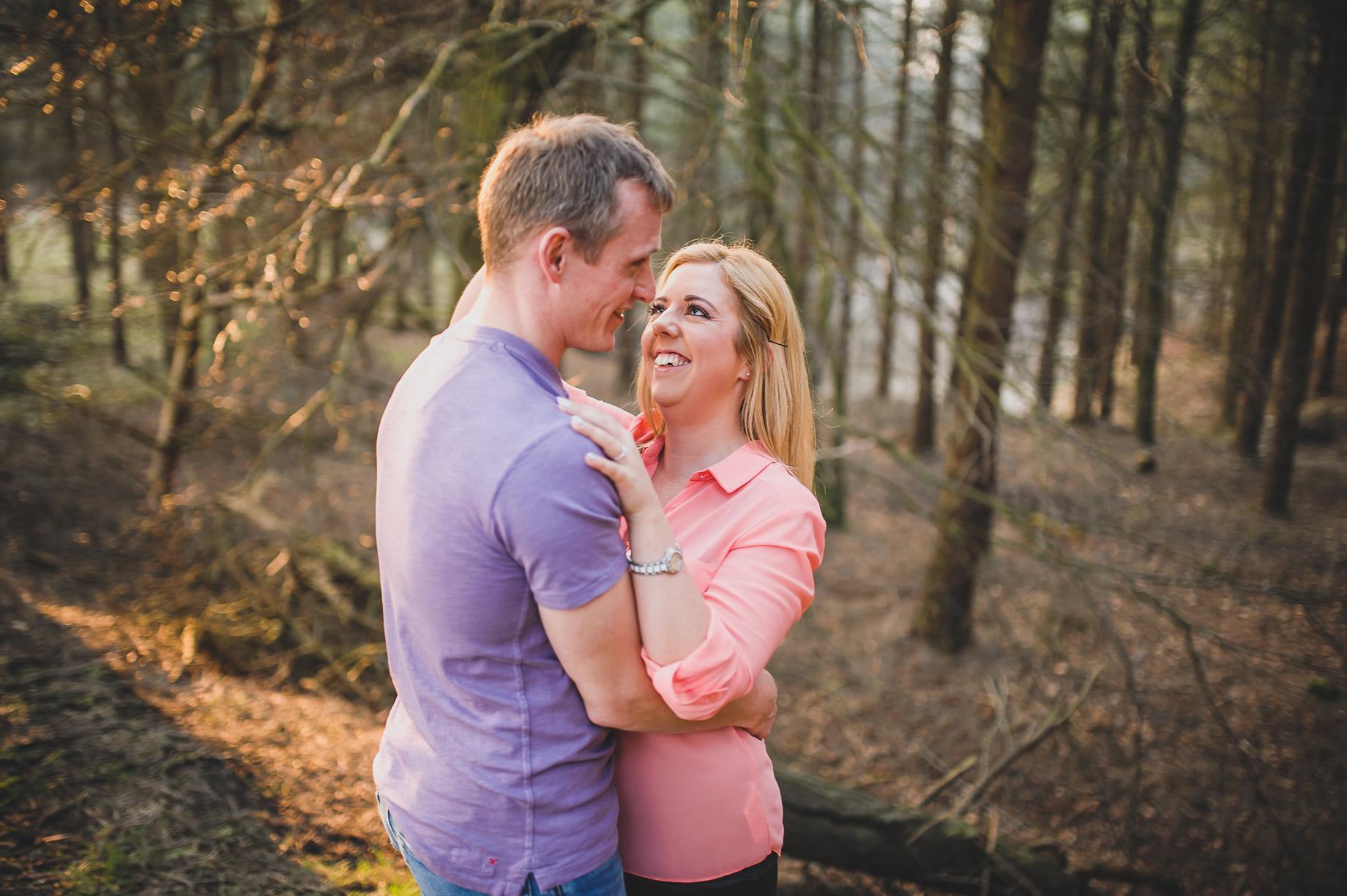 Lynne and Craig Pre-Wedding Shoot at Hurstwood Reservoir 005