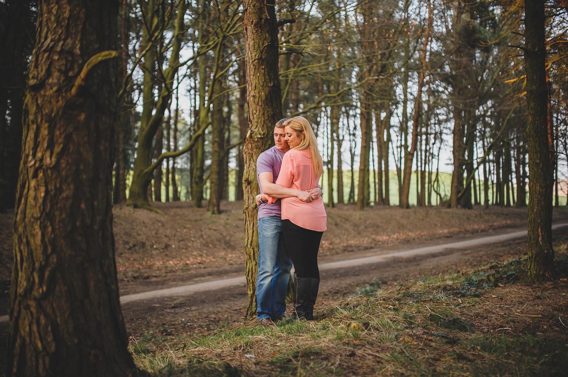Lynne and Craig Pre-Wedding Shoot at Hurstwood Reservoir 009