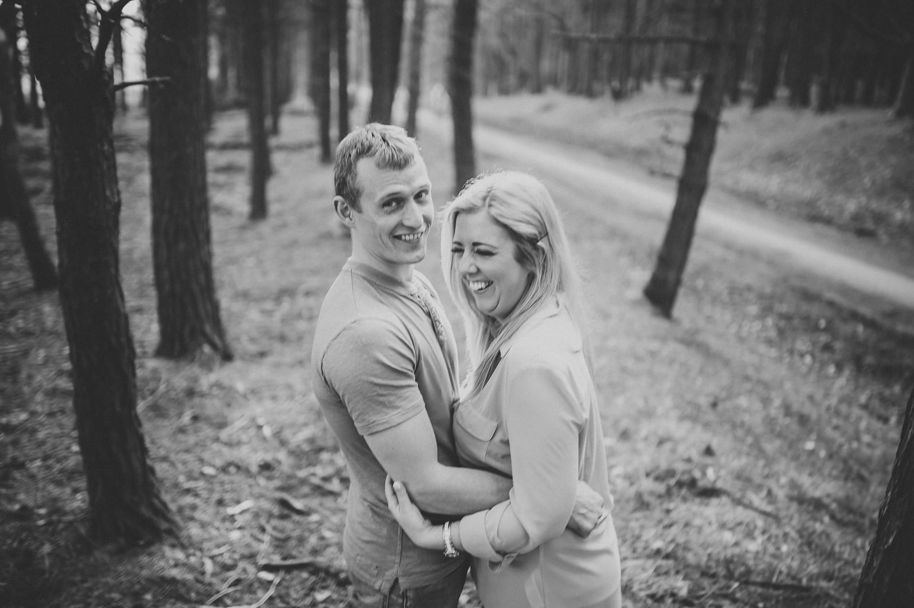 Lynne and Craig Pre-Wedding Shoot at Hurstwood Reservoir 011
