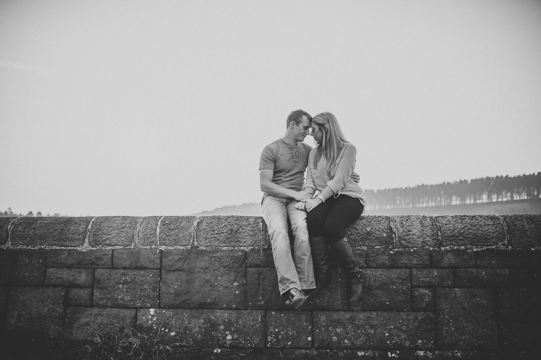 Lynne and Craig Pre-Wedding Shoot at Hurstwood Reservoir 014