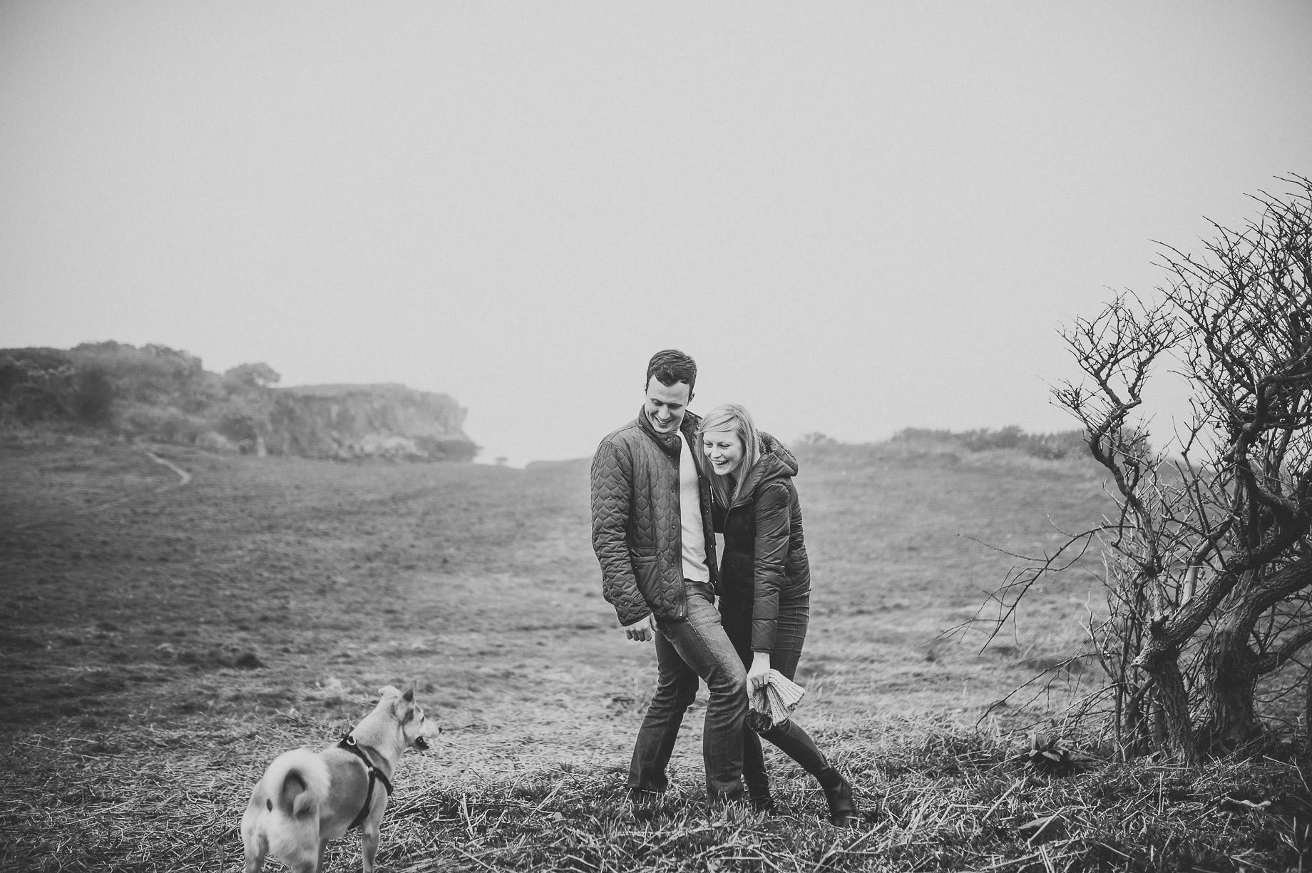 Rebecca and Elliot Pre-Wedding Shoot in Heysham 001
