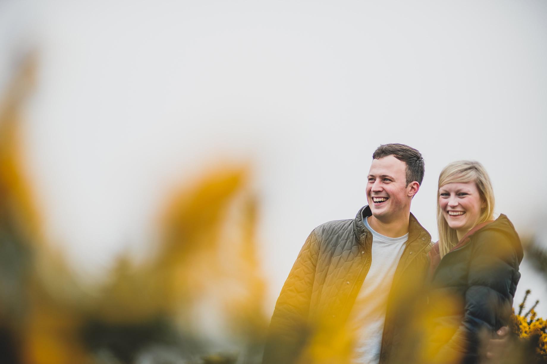 Rebecca and Elliot Pre-Wedding Shoot in Heysham 015