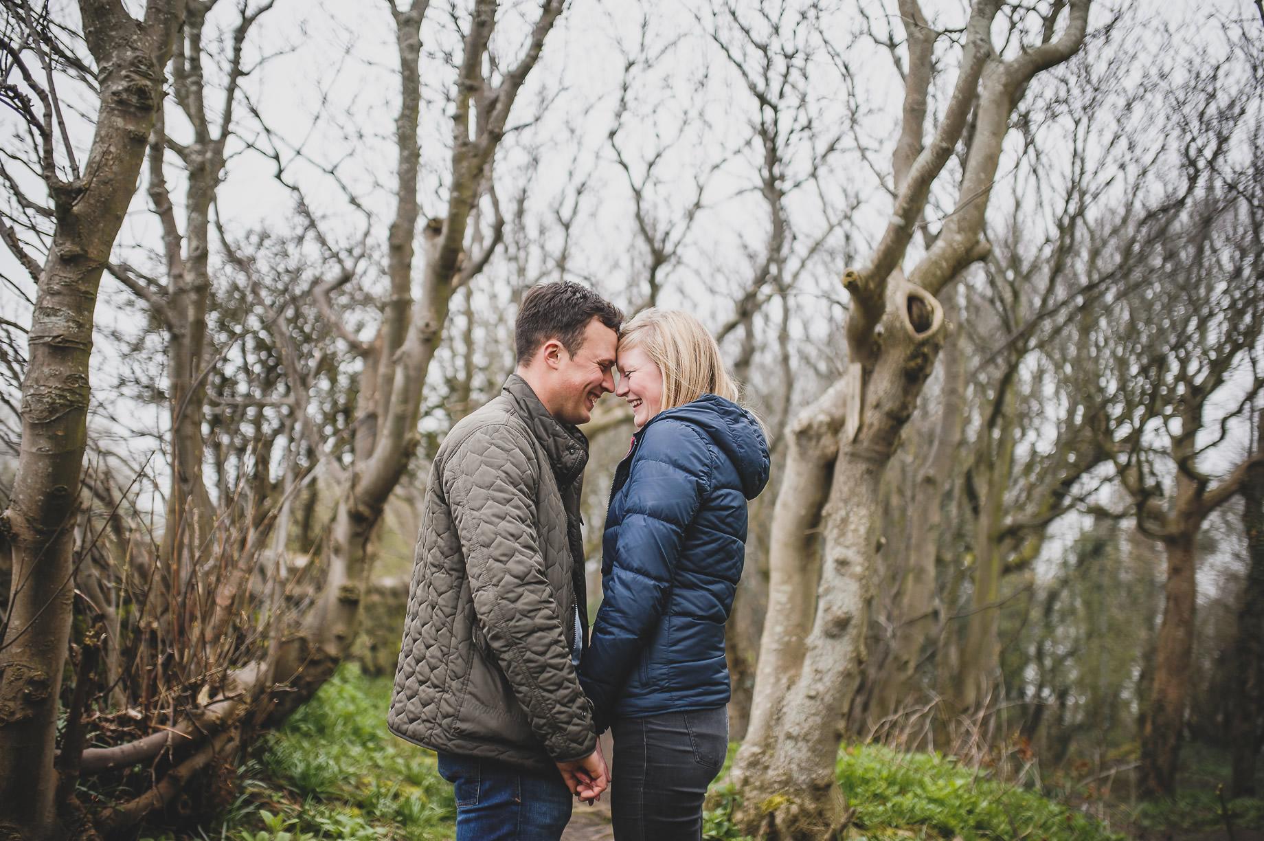 Rebecca and Elliot Pre-Wedding Shoot in Heysham 019