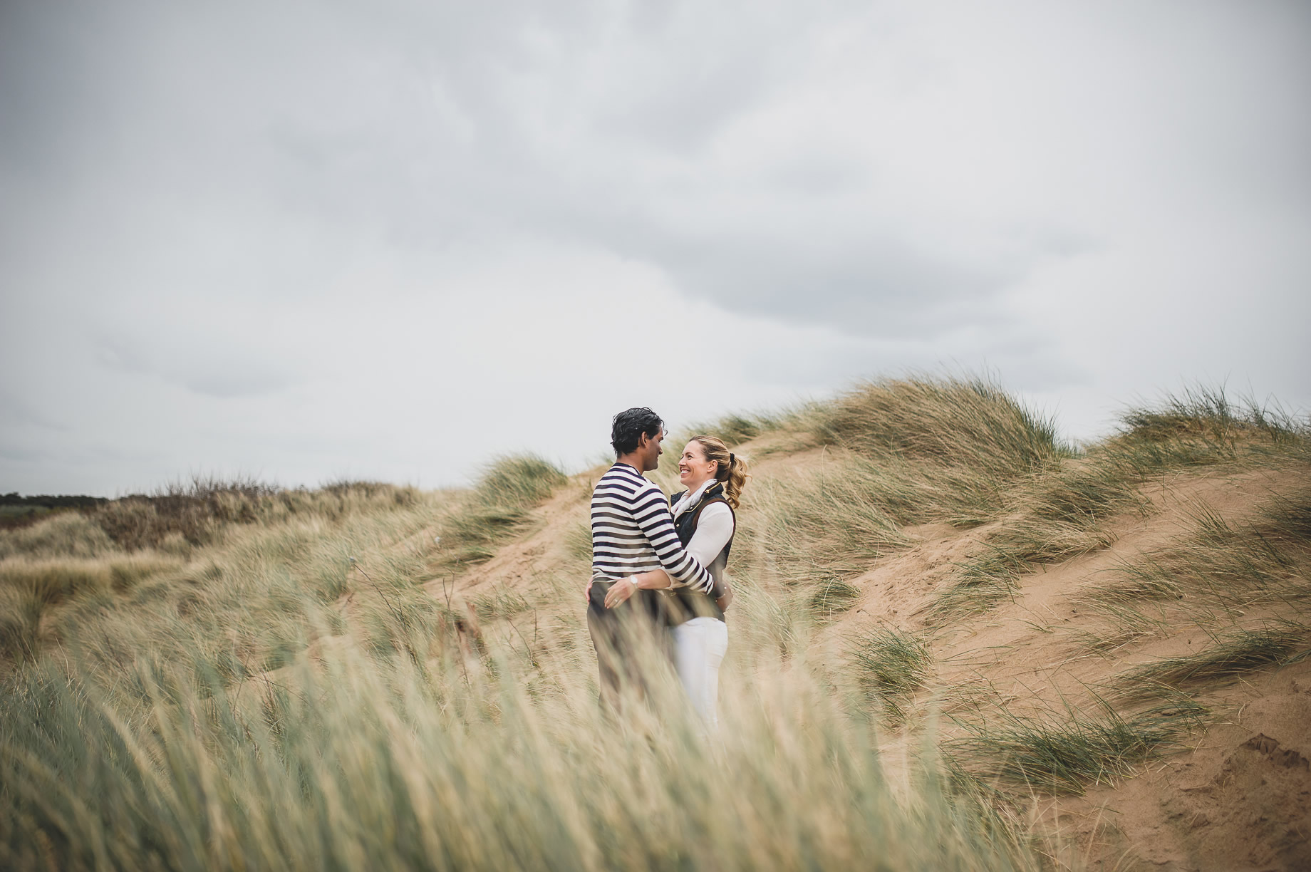 Jen and Priyan's Pre-Wedding Shoot at Formby Point 001