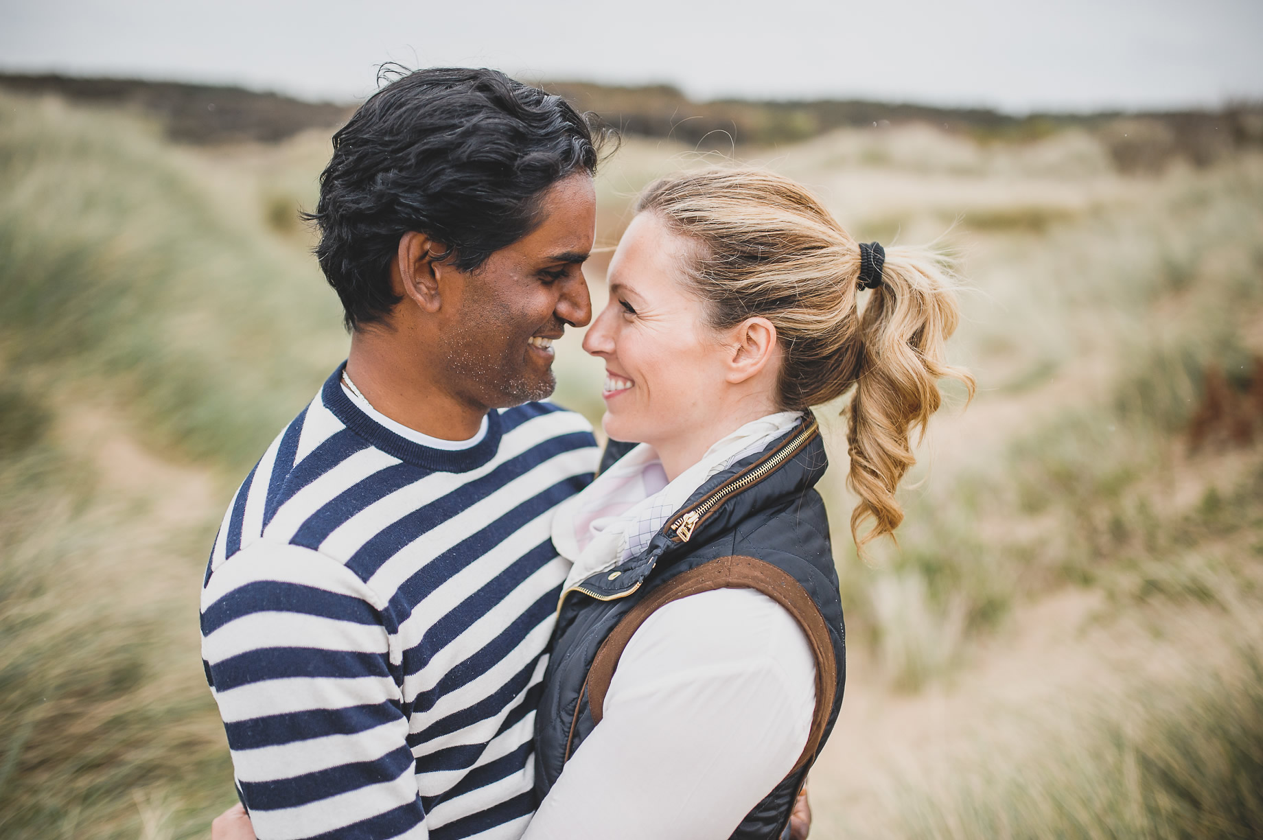 Jen and Priyan's Pre-Wedding Shoot at Formby Point 002