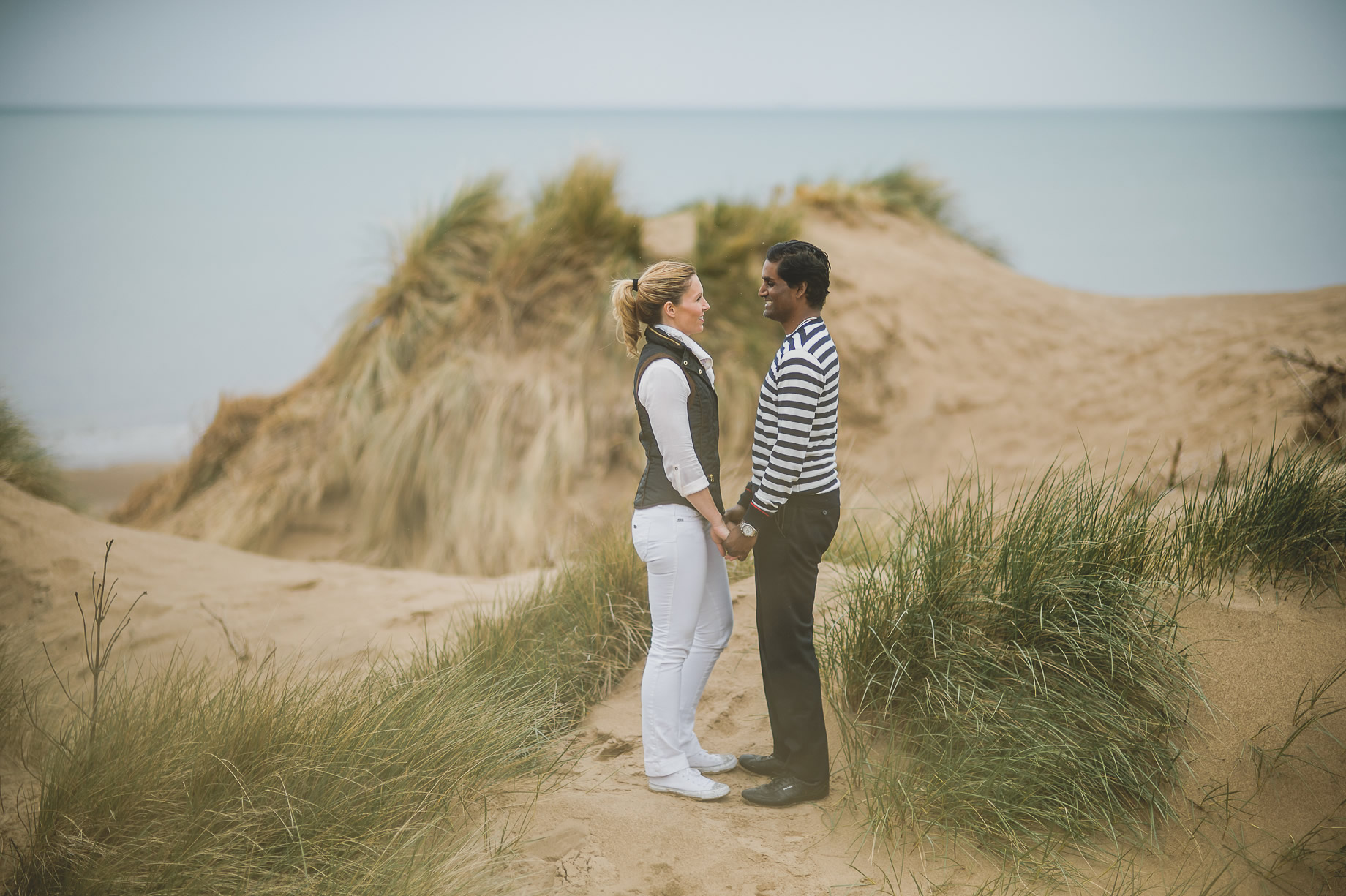 Jen and Priyan's Pre-Wedding Shoot at Formby Point 005