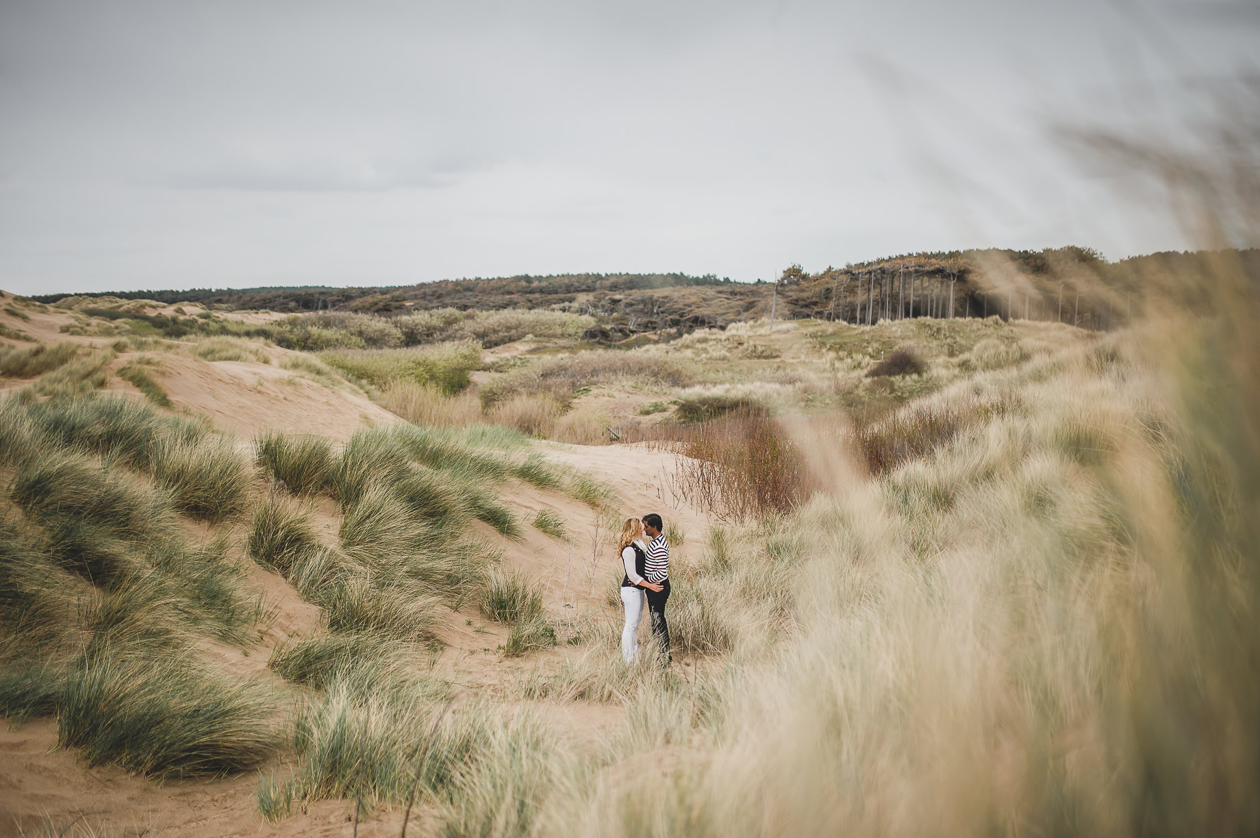 Jen and Priyan's Pre-Wedding Shoot at Formby Point 006