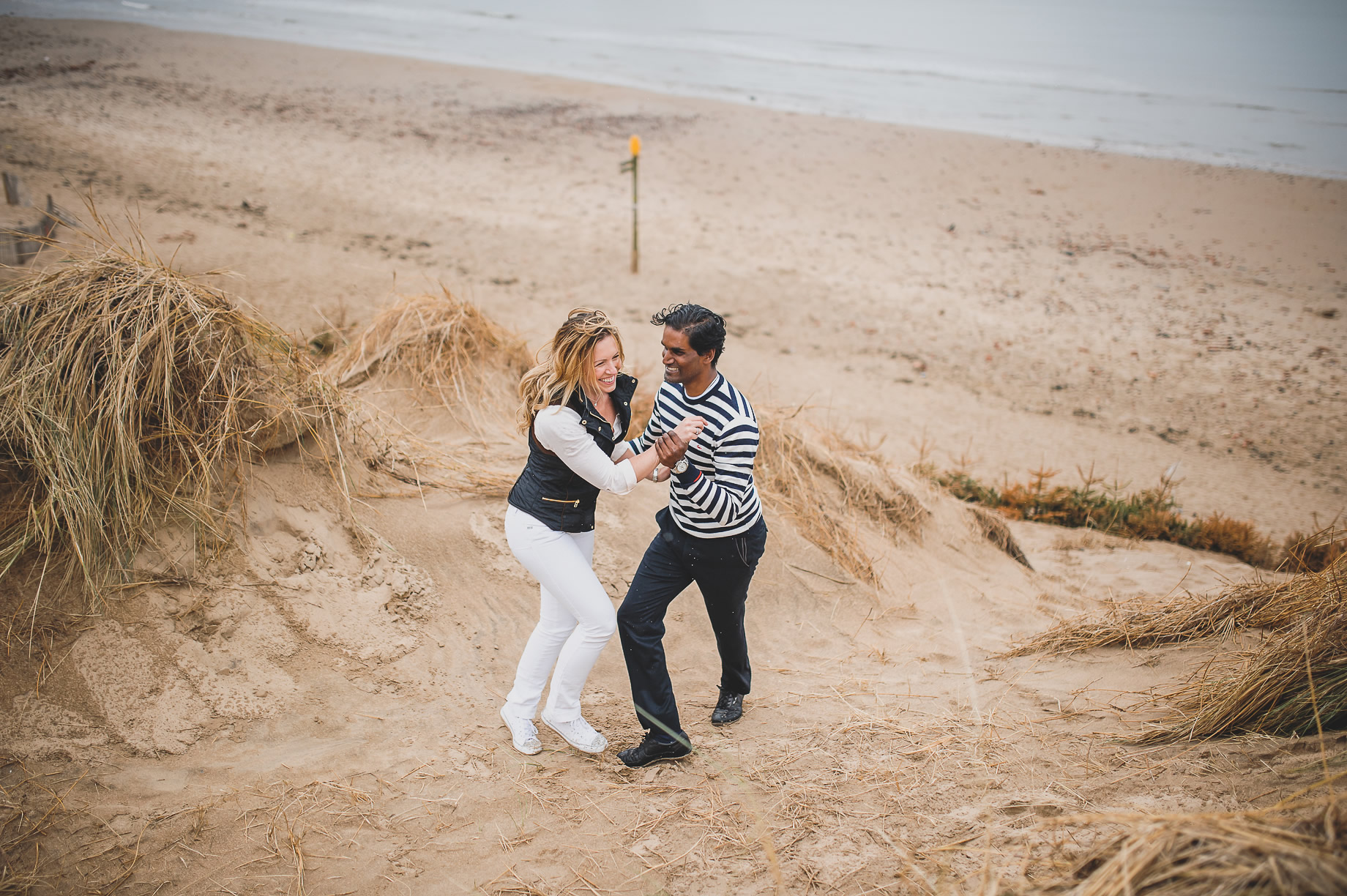 Jen and Priyan's Pre-Wedding Shoot at Formby Point 008