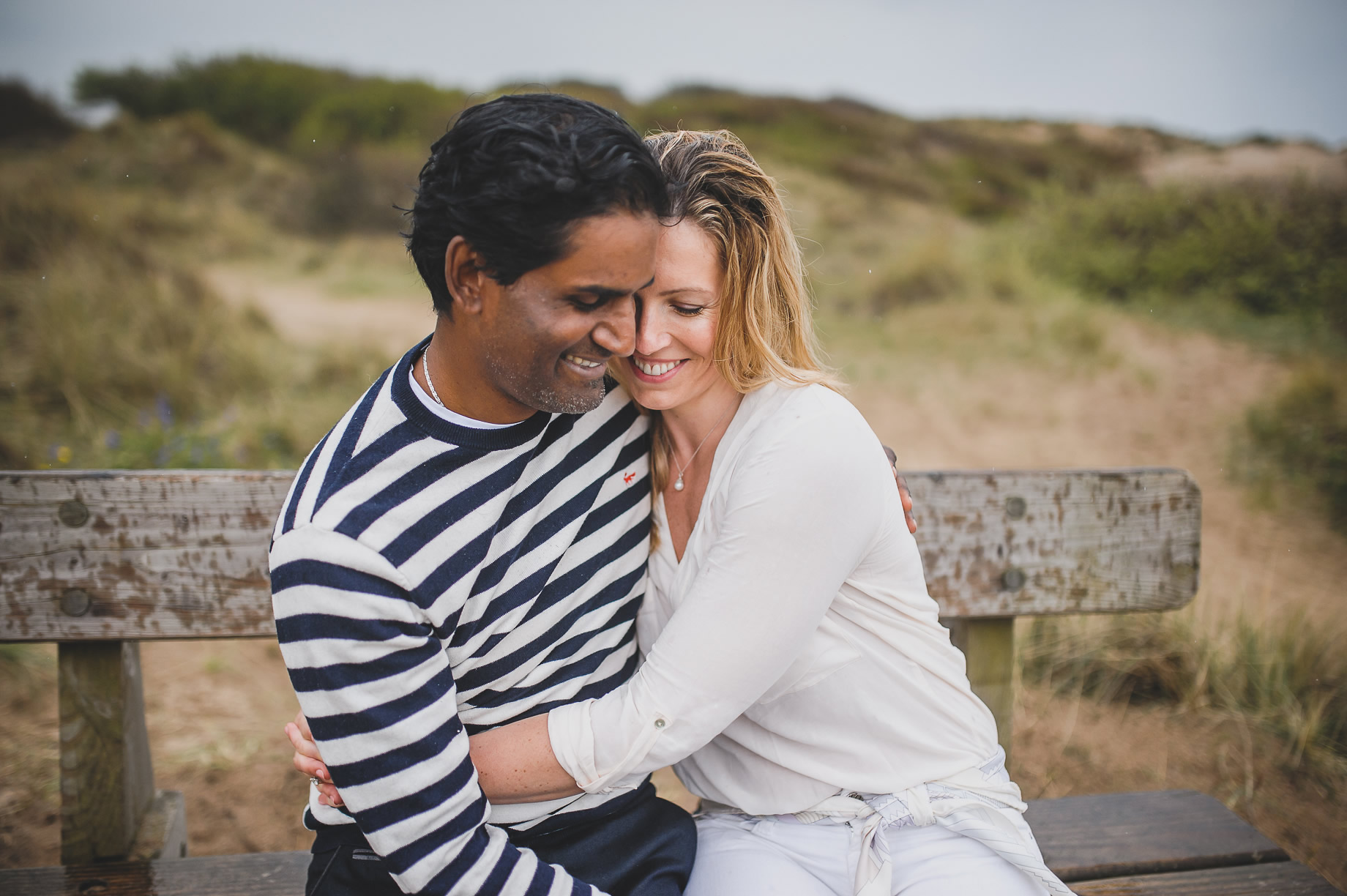 Jen and Priyan's Pre-Wedding Shoot at Formby Point 010