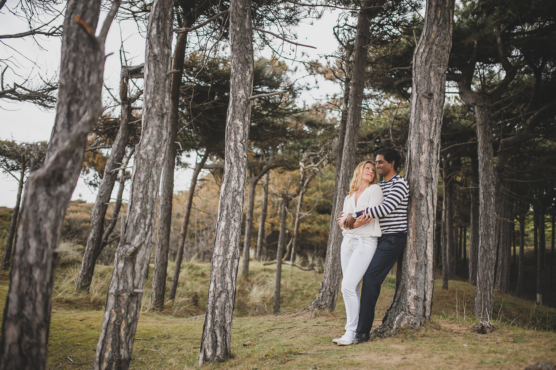 Jen and Priyan's Pre-Wedding Shoot at Formby Point 013