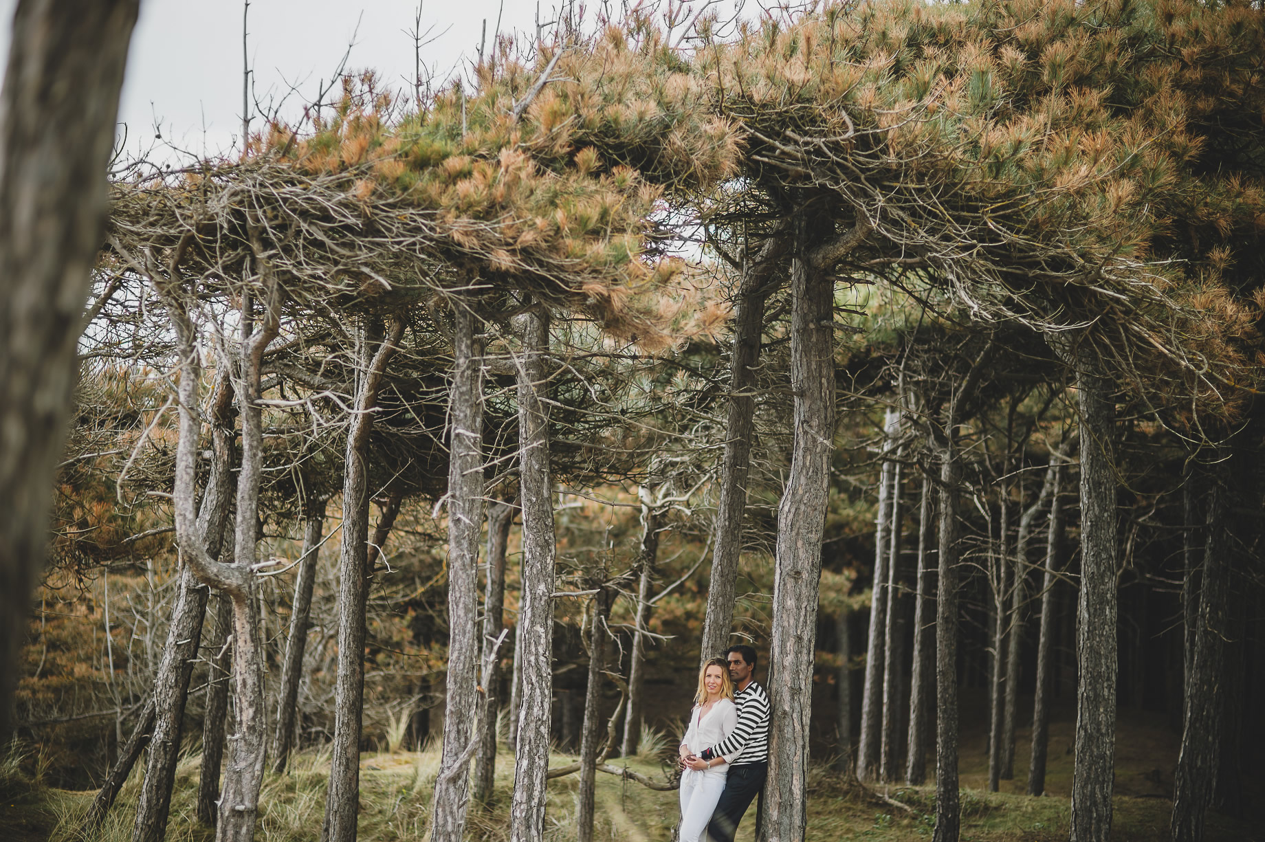 Jen and Priyan's Pre-Wedding Shoot at Formby Point 014