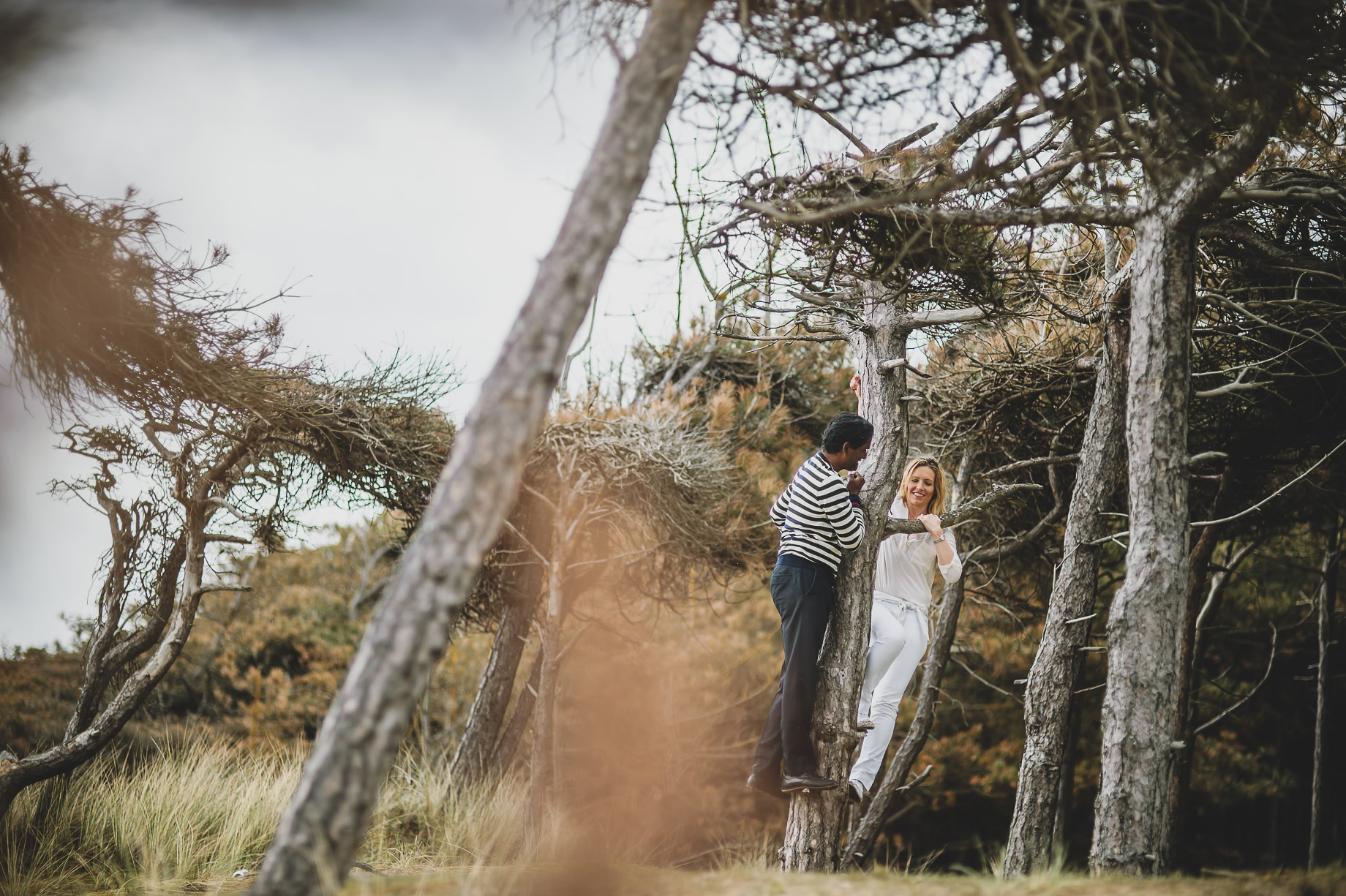 Jen and Priyan's Pre-Wedding Shoot at Formby Point 015