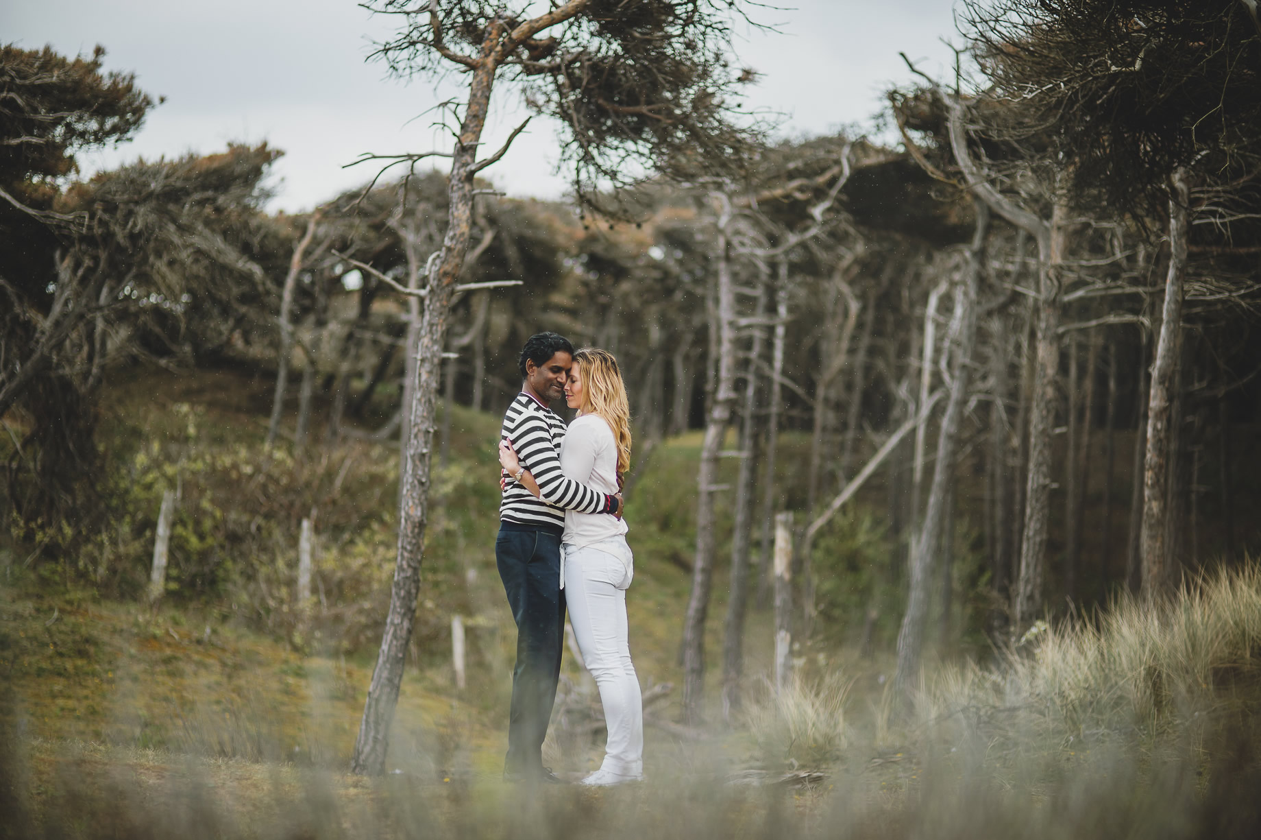 Jen and Priyan's Pre-Wedding Shoot at Formby Point 017