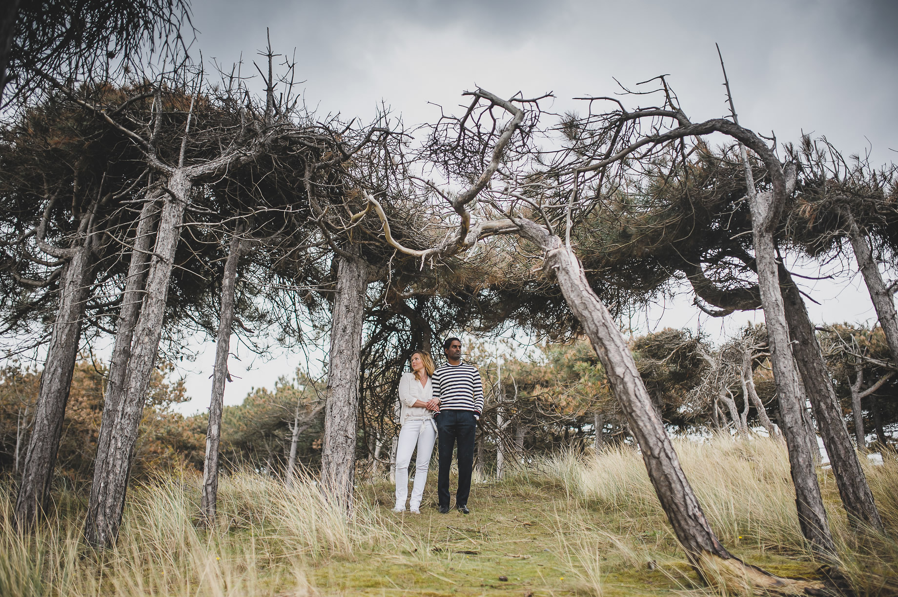Jen and Priyan's Pre-Wedding Shoot at Formby Point 018