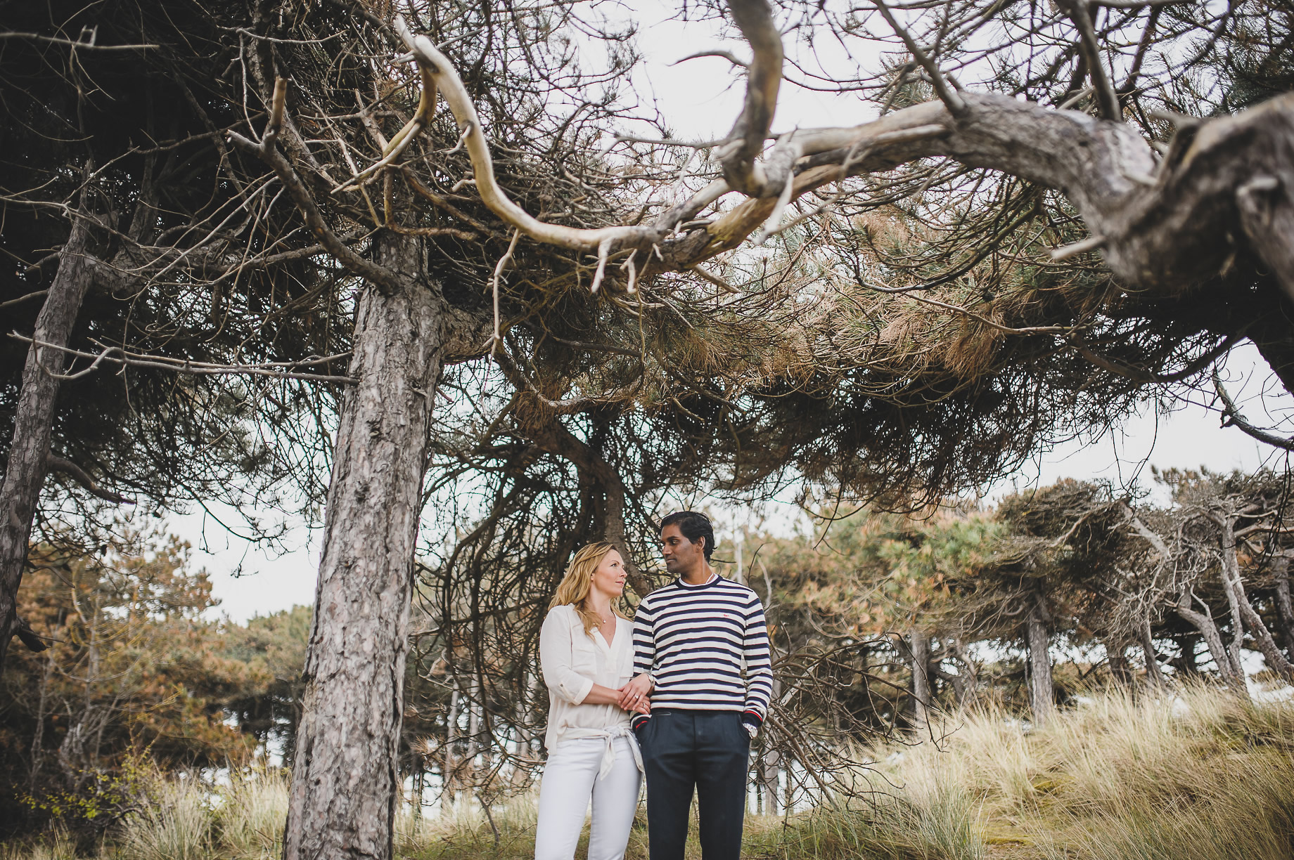 Jen and Priyan's Pre-Wedding Shoot at Formby Point 019