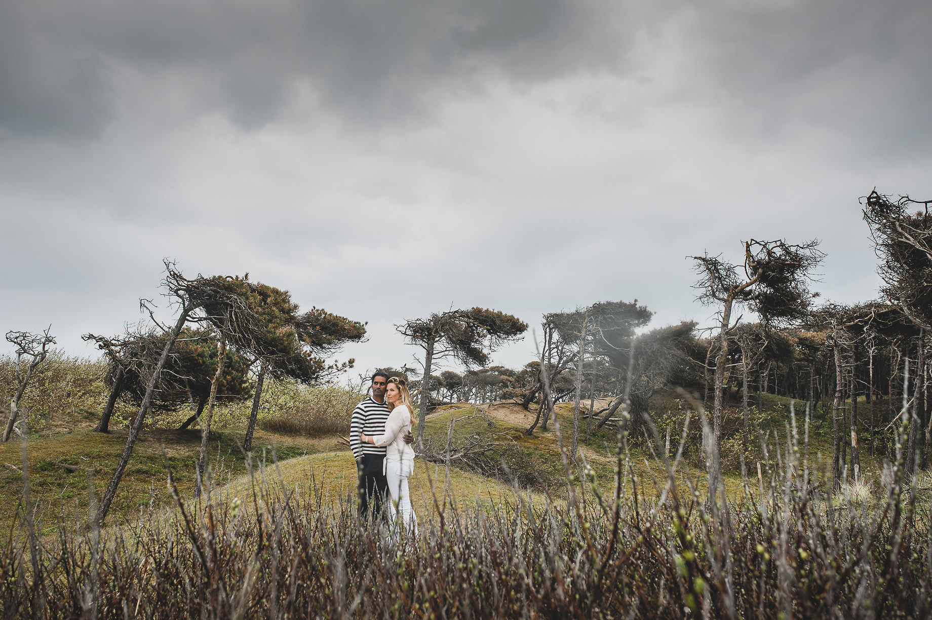 Jen and Priyan's Pre-Wedding Shoot at Formby Point 020
