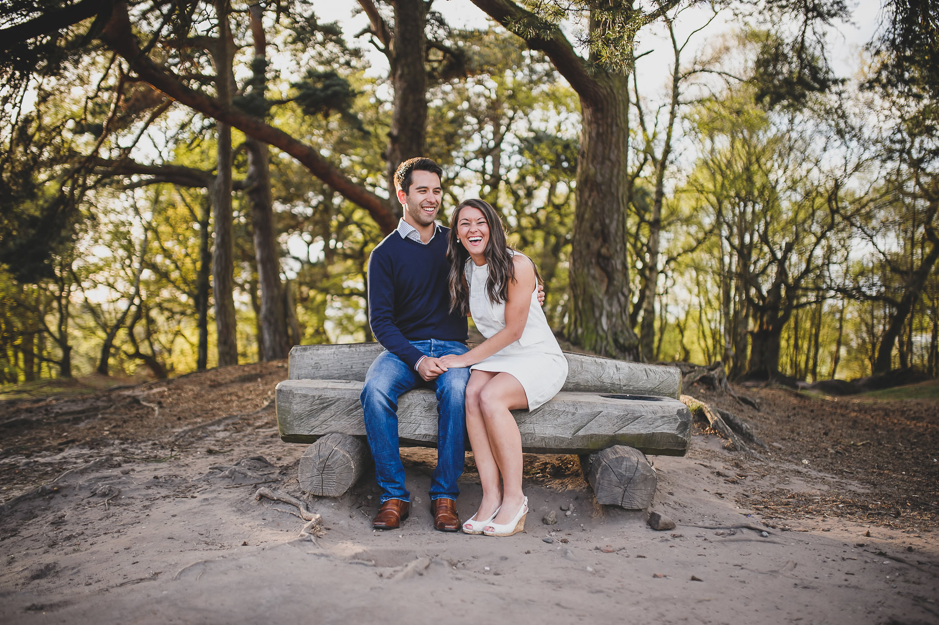 Laura and Matt Pre-Wedding Shoot in Alderley Edge 014