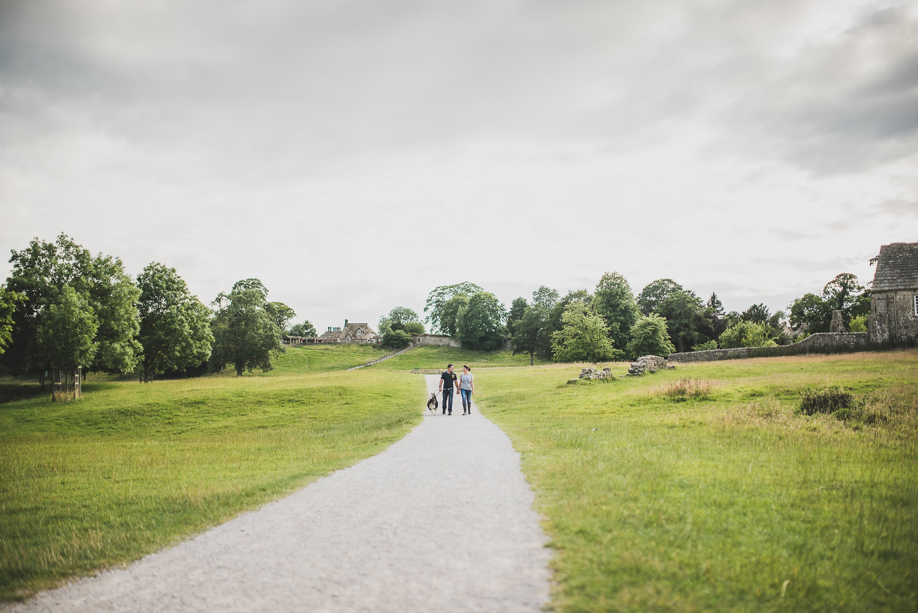 Kate and Chris Pre-Wedding Shoot at Bolton Abbey 001