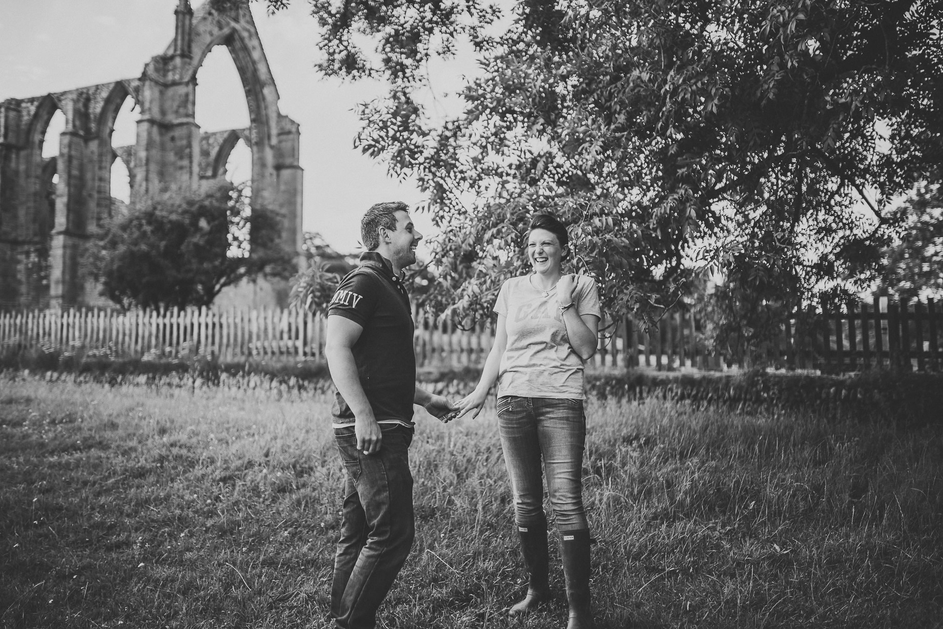 Kate and Chris Pre-Wedding Shoot at Bolton Abbey 005
