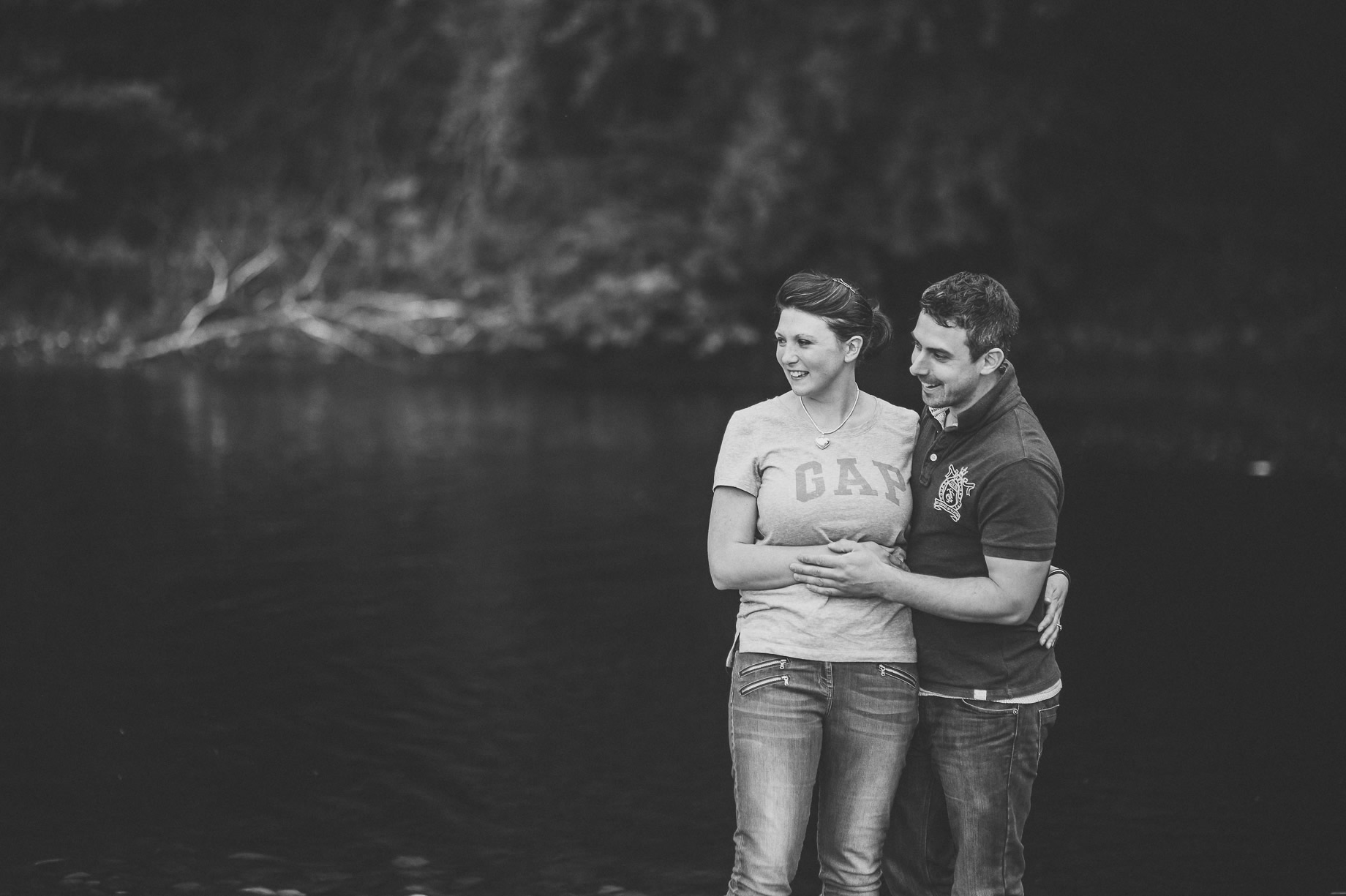 Kate and Chris Pre-Wedding Shoot at Bolton Abbey 011