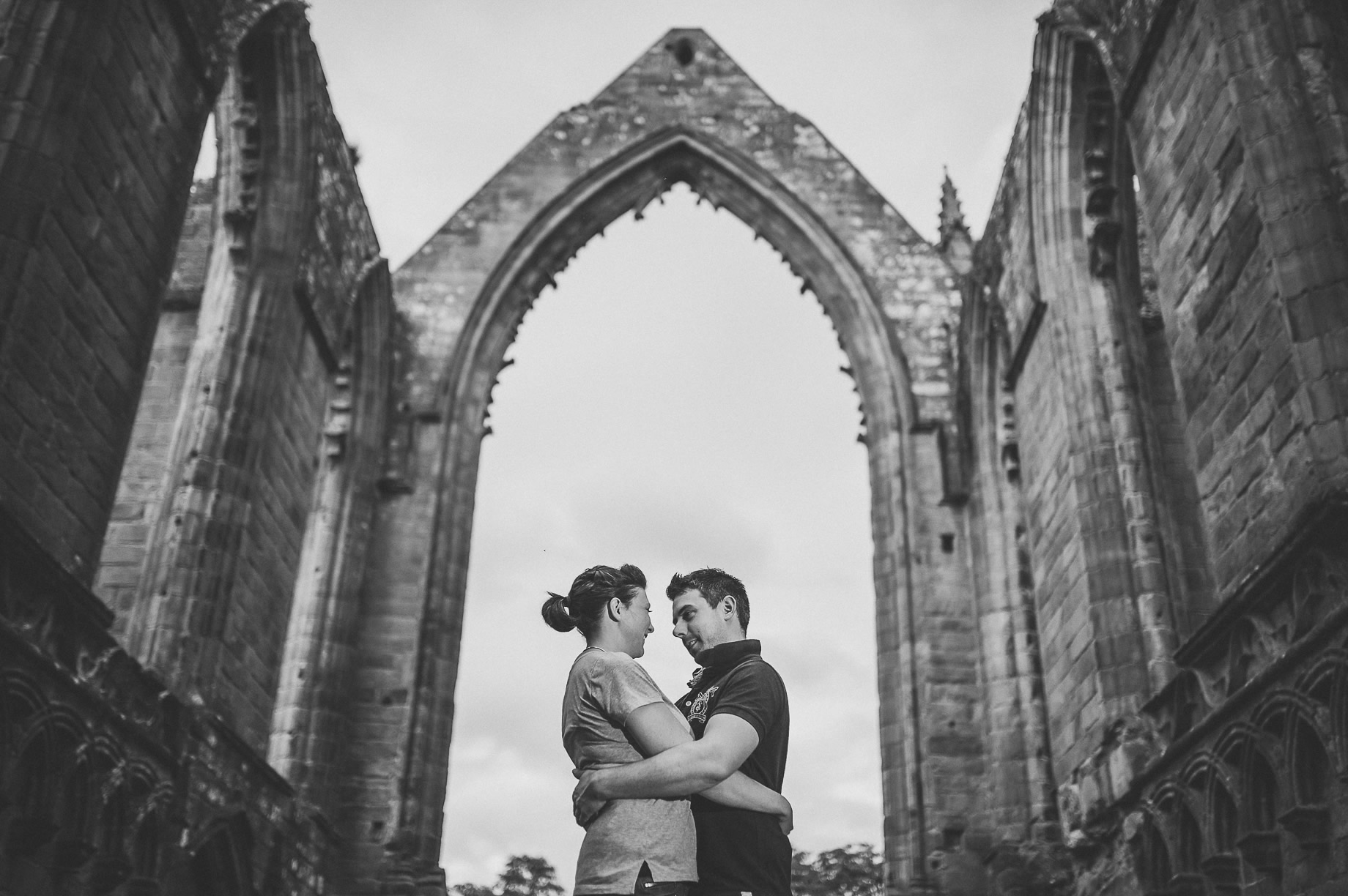 Kate and Chris Pre-Wedding Shoot at Bolton Abbey 014