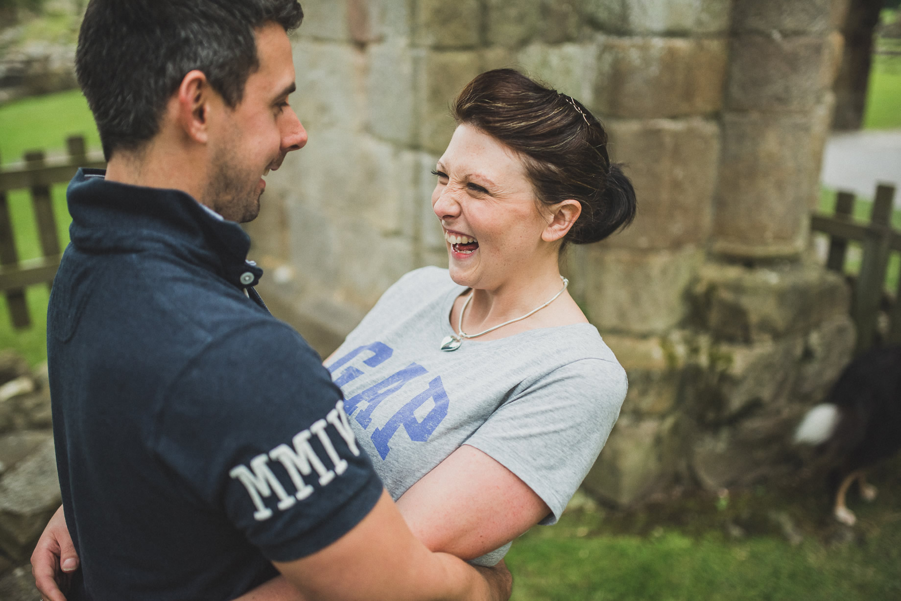 Kate and Chris Pre-Wedding Shoot at Bolton Abbey 018