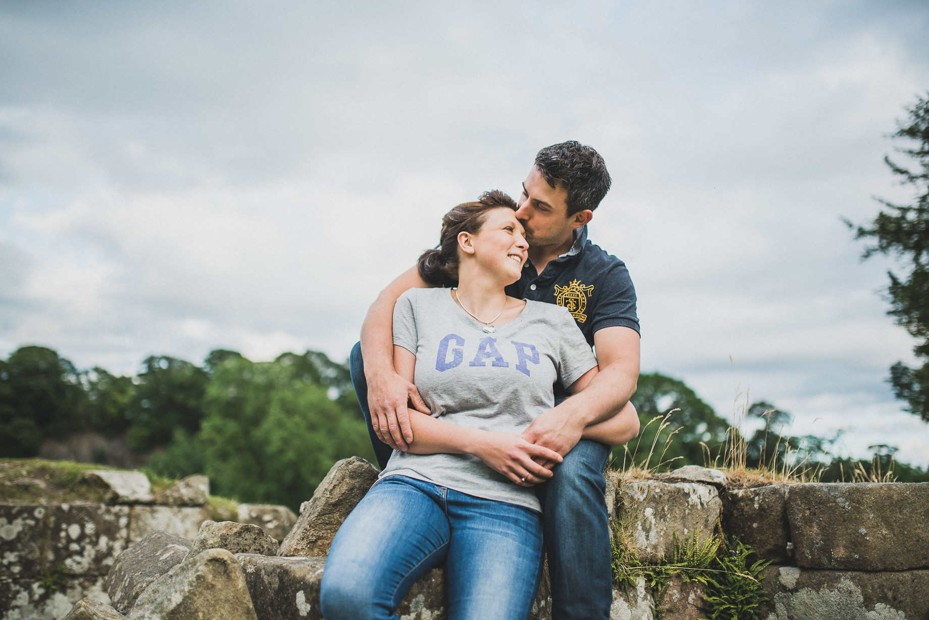 Kate and Chris Pre-Wedding Shoot at Bolton Abbey 021