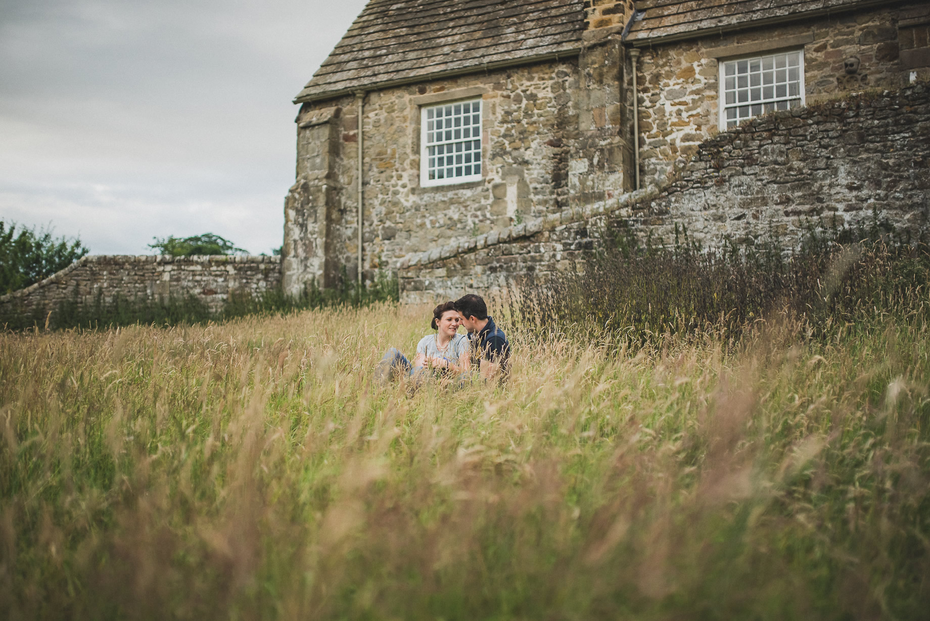 Kate and Chris Pre-Wedding Shoot at Bolton Abbey 023