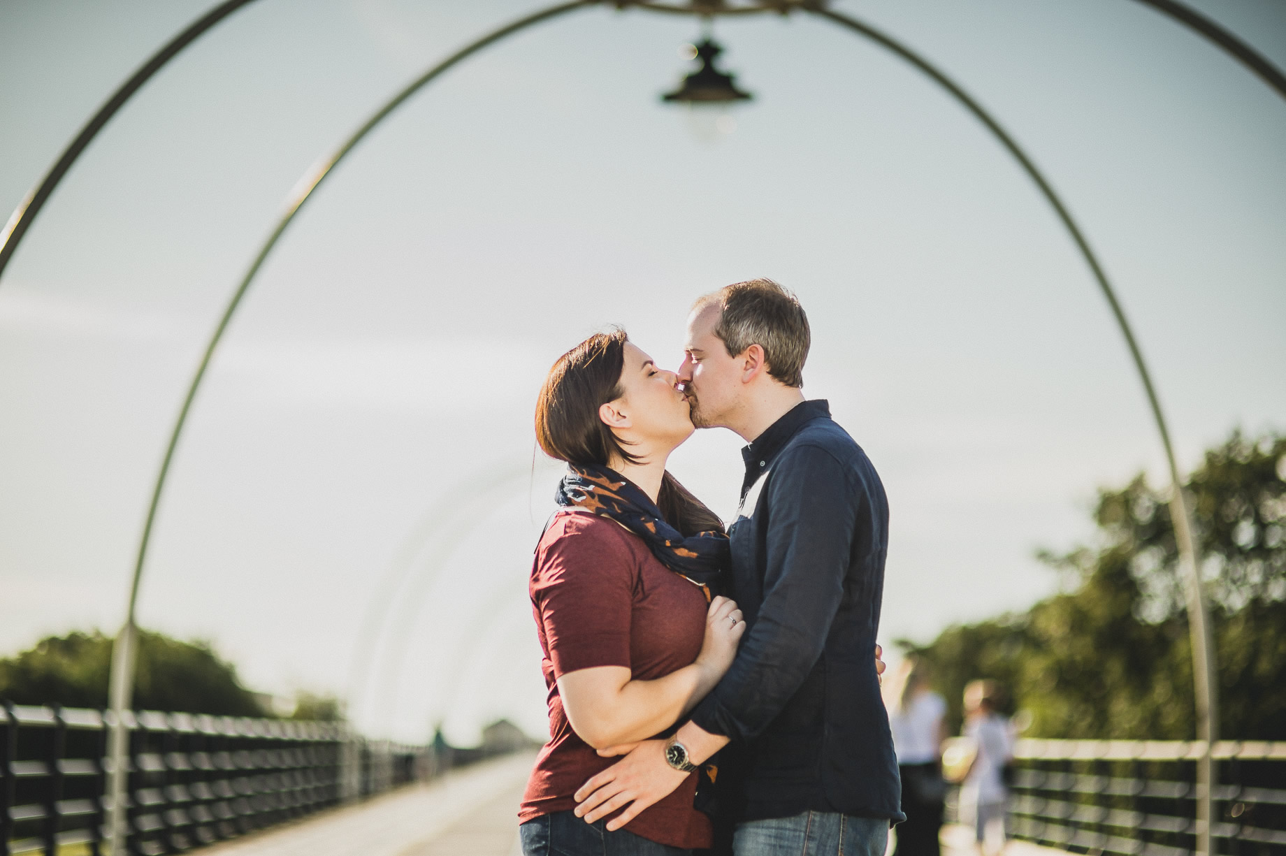 Jess and Andrew's Portrait Shoot on Southport Pier 002