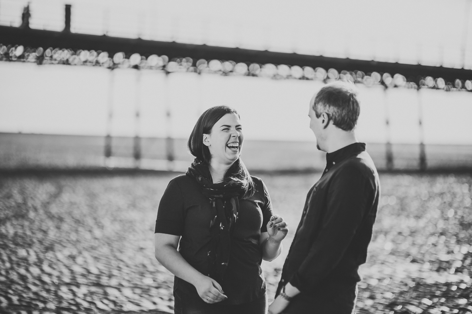 Jess and Andrew's Portrait Shoot on Southport Pier 014