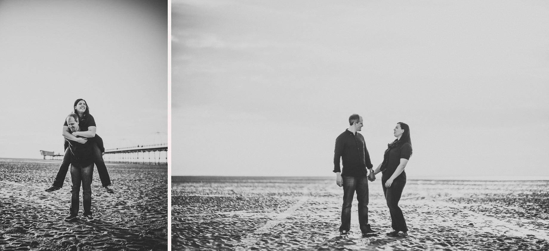 Jess and Andrew's Portrait Shoot on Southport Pier 019