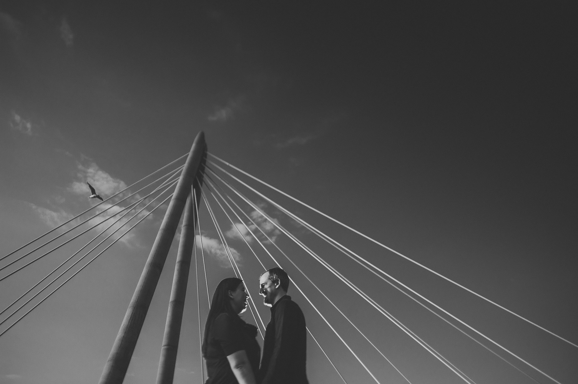 Jess and Andrew's Portrait Shoot on Southport Pier 021