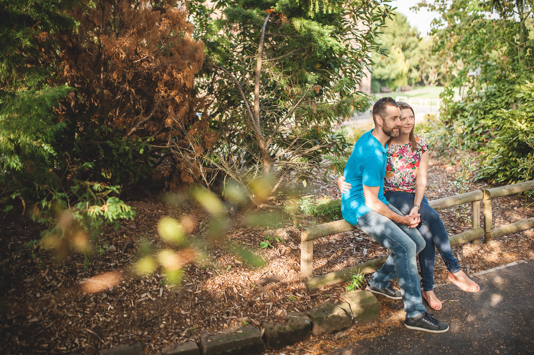 Keri and Paul's Pre-Wedding Shoot at Walton Gardens 002