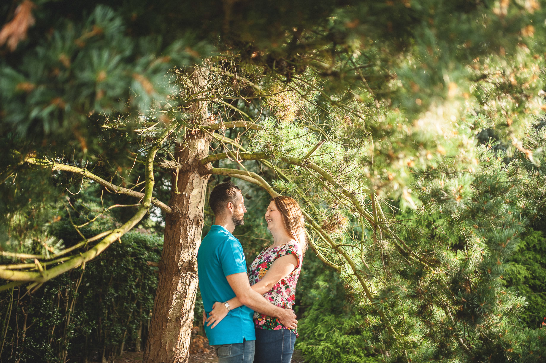 Keri and Paul's Pre-Wedding Shoot at Walton Gardens 005
