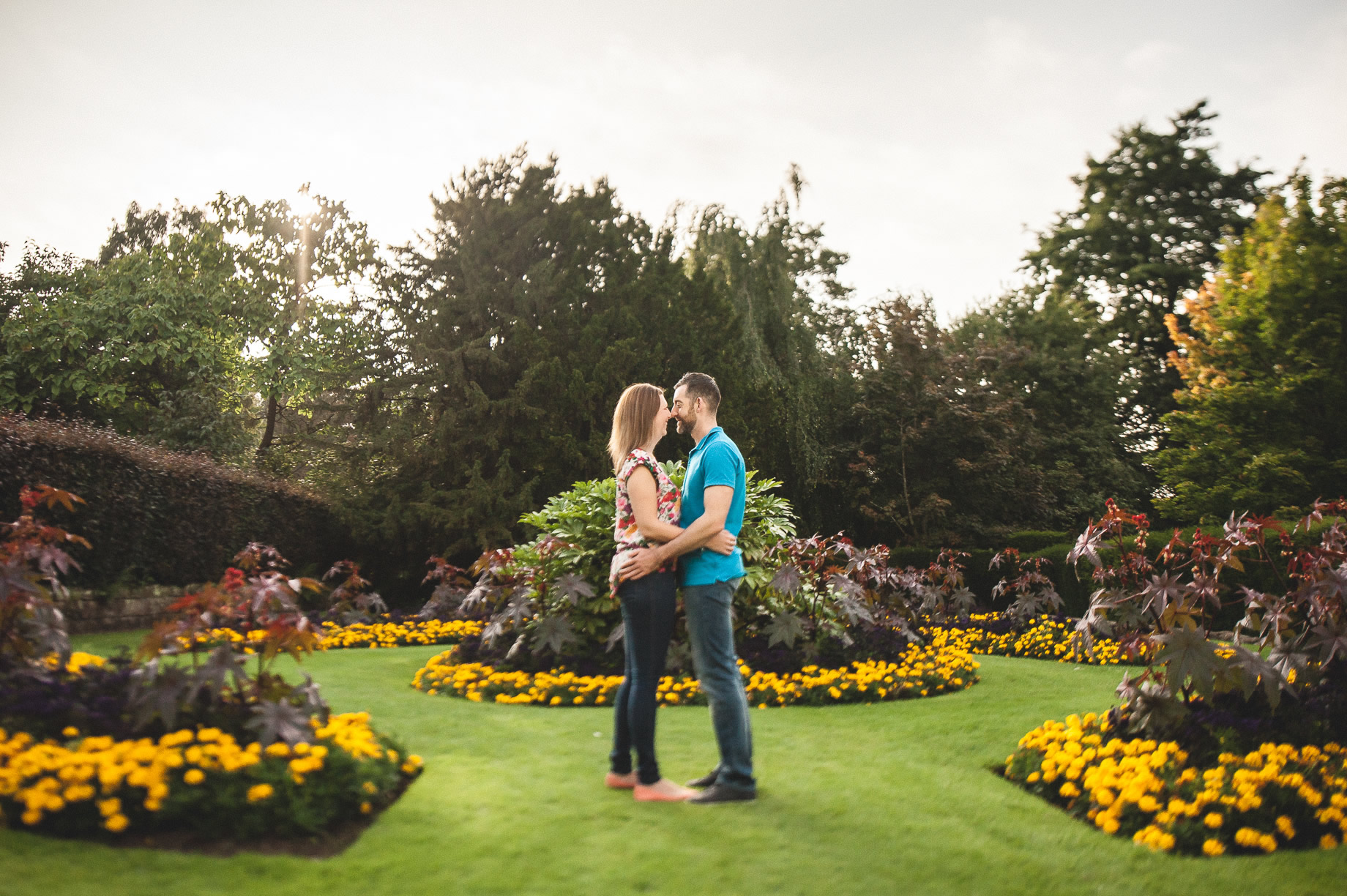 Keri and Paul's Pre-Wedding Shoot at Walton Gardens 007