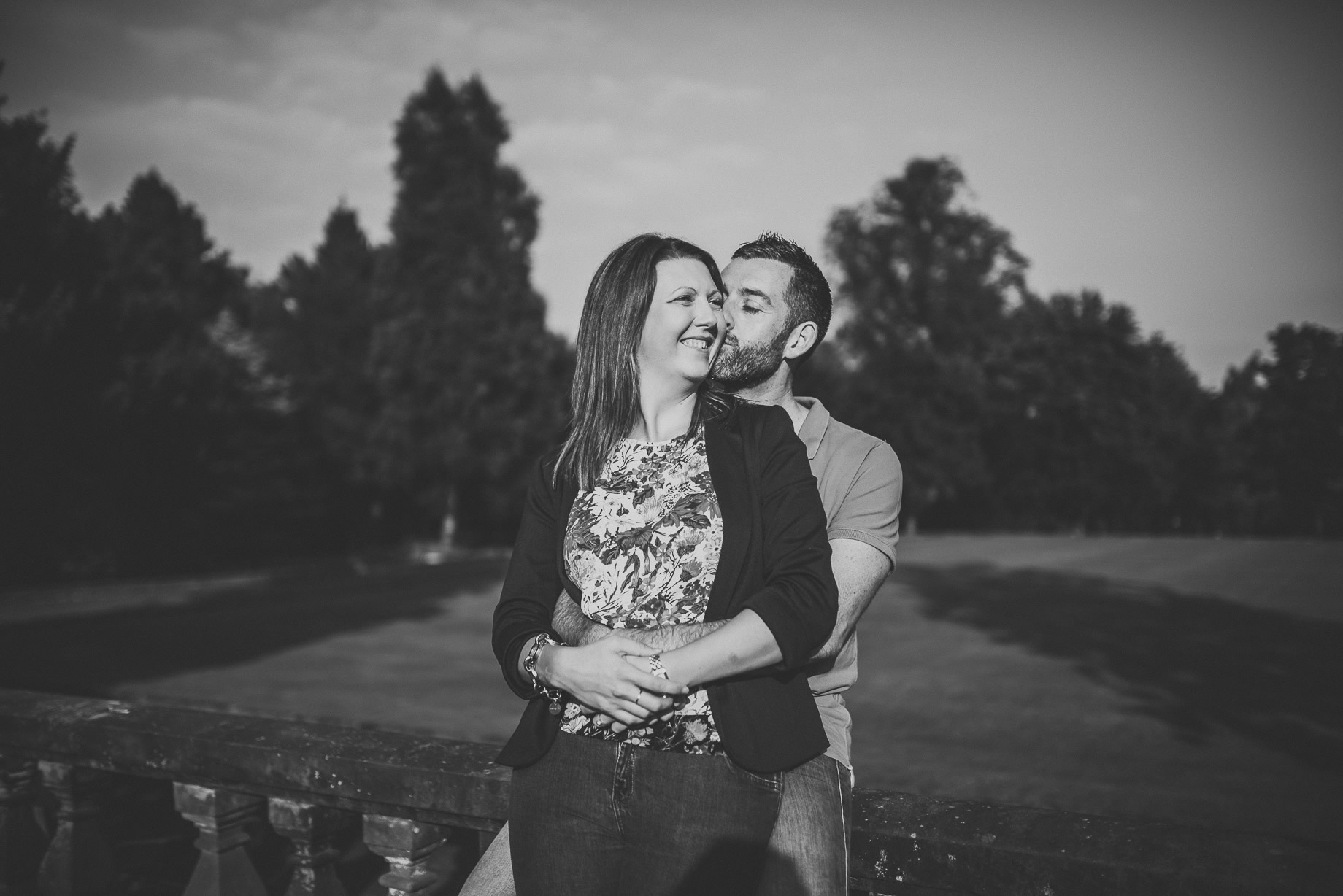 Keri and Paul's Pre-Wedding Shoot at Walton Gardens 016