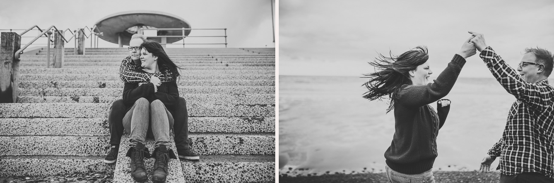 Laura and Graham Portrait Shoot on Cleveleys Promenade 003